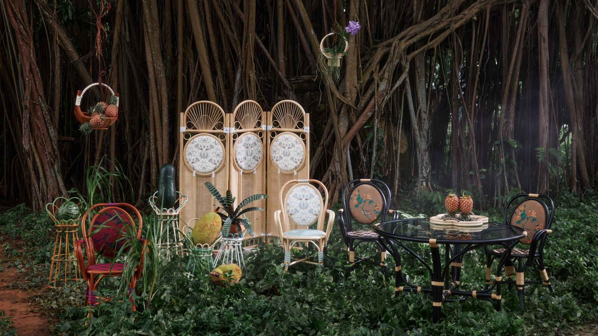 Singaporean Label Ong Shunmugam's Rattan Furniture Are Made In Malaysia