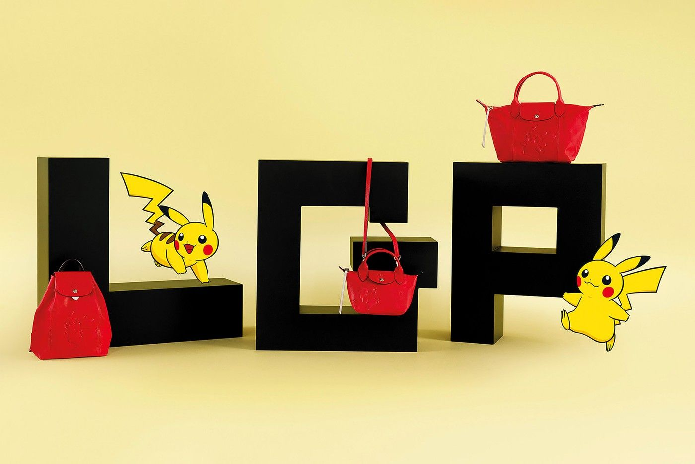 This Longchamp x Pokémon Collaboration, with Pikachu as its Mascot, is Absolutely Adorable