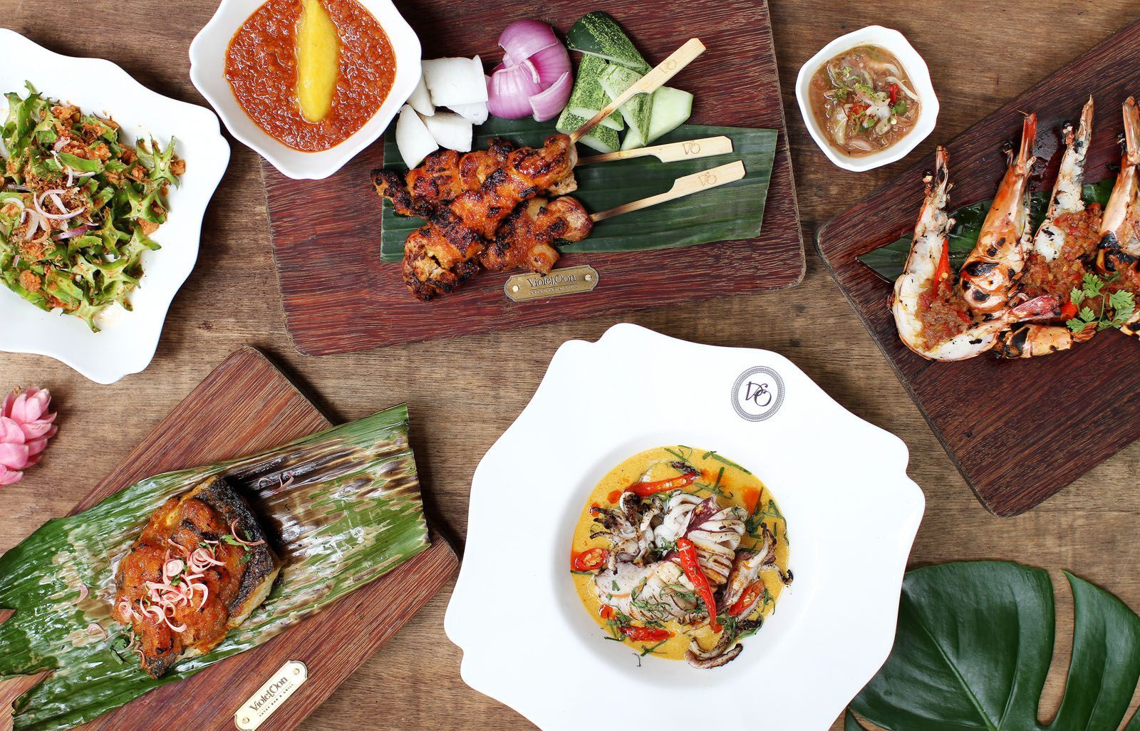 Where to Eat in Singapore This Week: Artemis Grill, Zafferano, Crossroads Café, Violet Oon Singapore Satay Bar & Grill, Burgers & Shakers