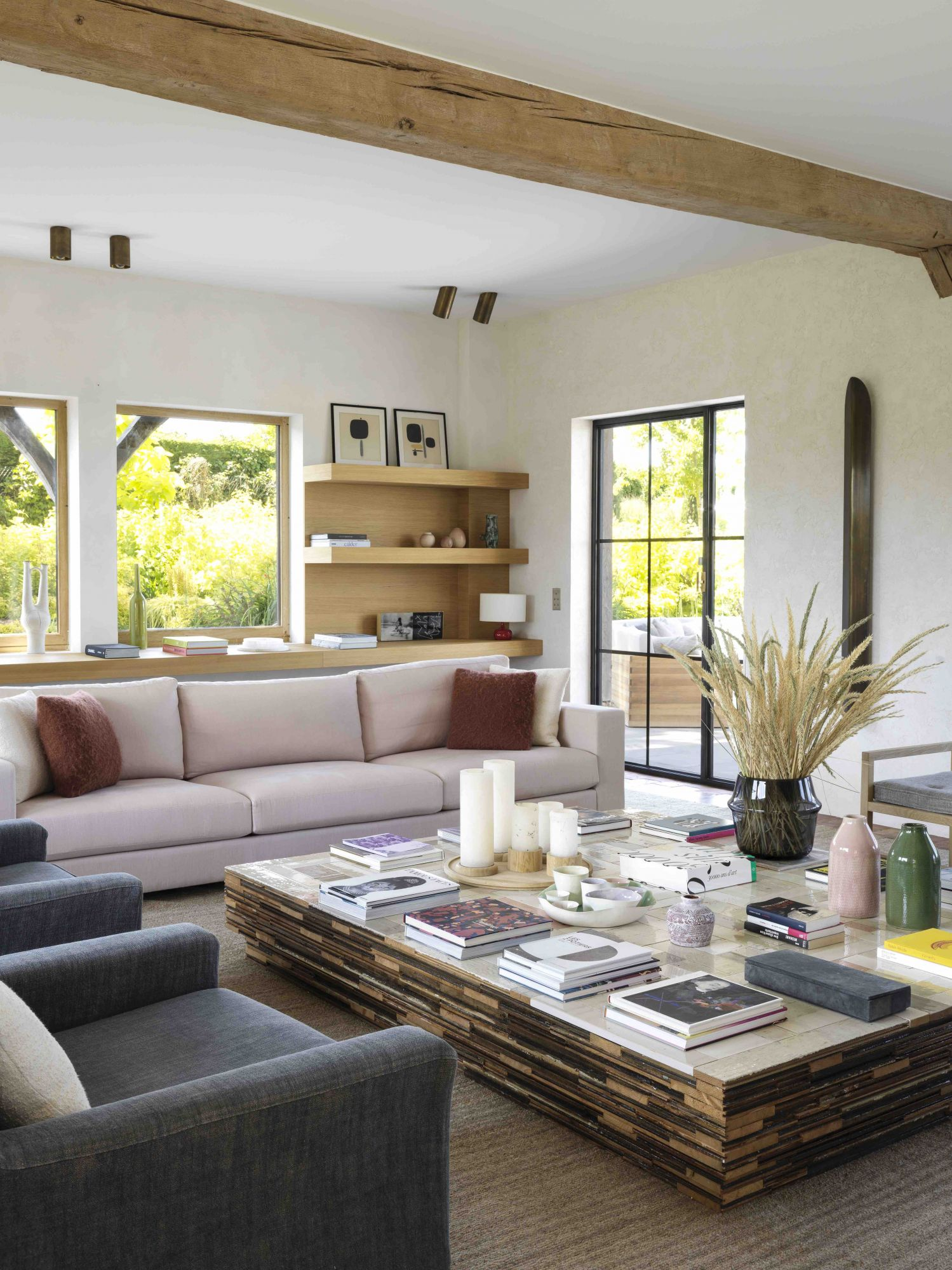 Home Tour: A Cosy French Villa With A Rustic Charm