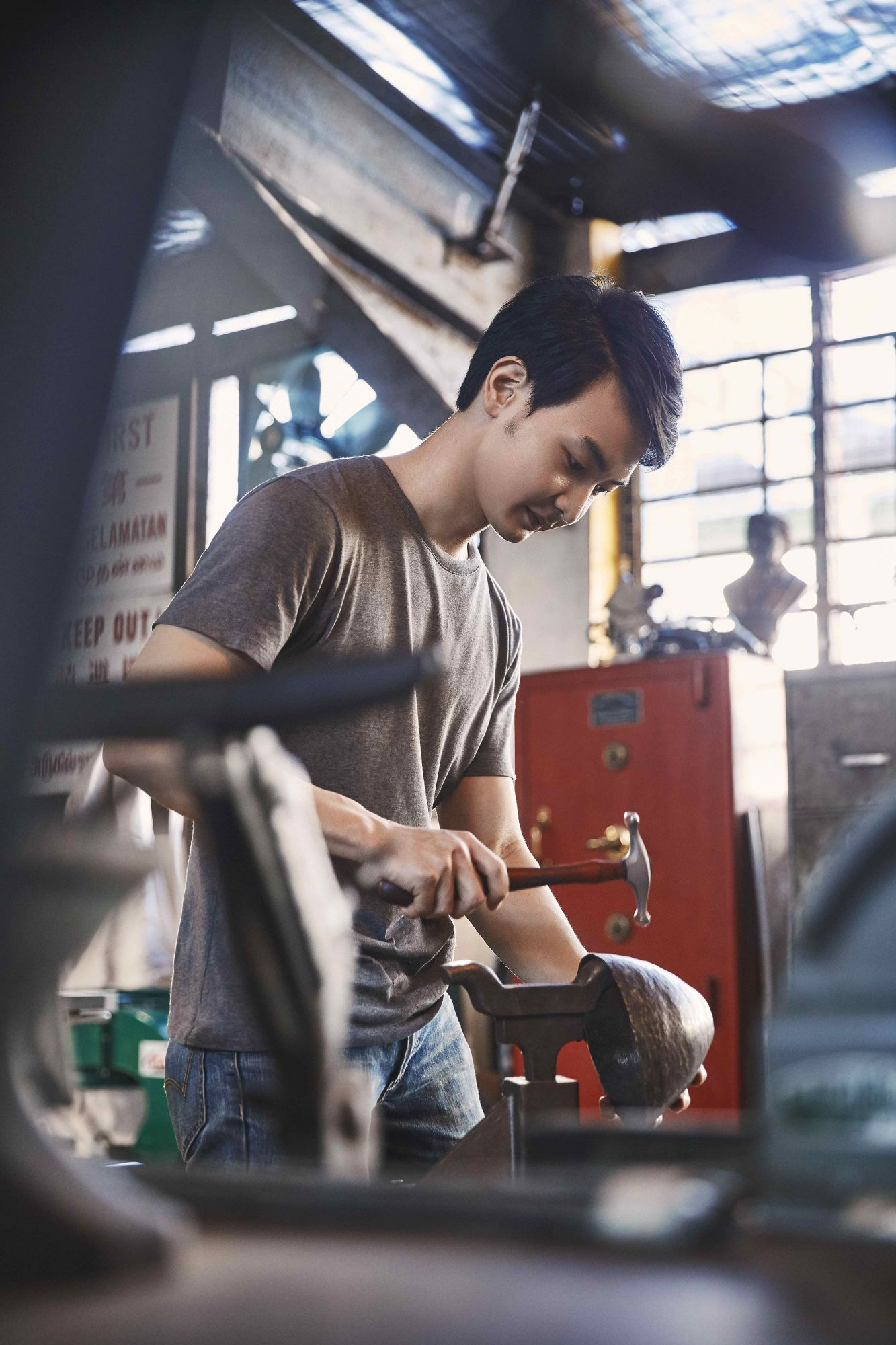 How The Singapore Founder Of Baremetalco Embraced Metalworking As His Creative Outlet