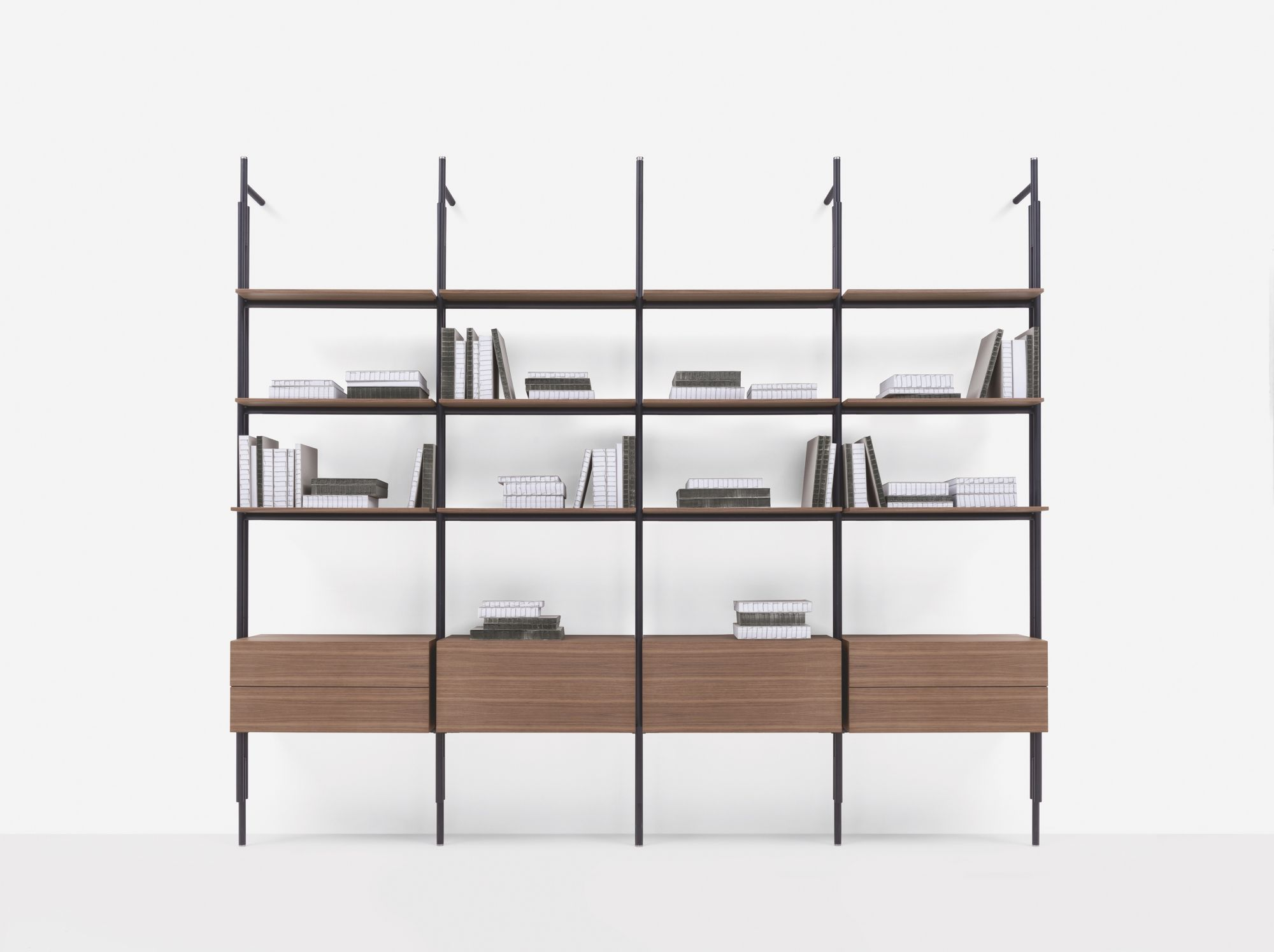 How To Style Your Shelves For Zoom Meetings