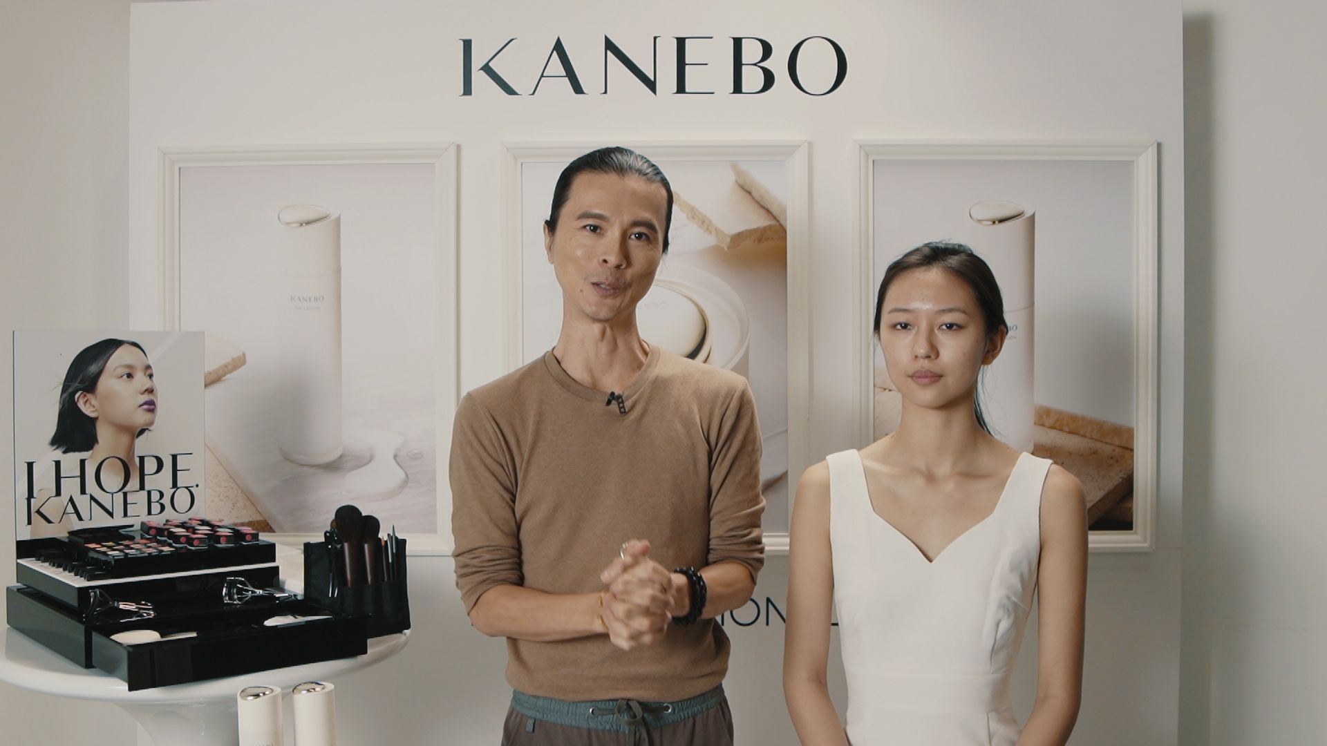 Sit in on this Skincare and Makeup Tutorial Session by Clarence Lee for Kanebo
