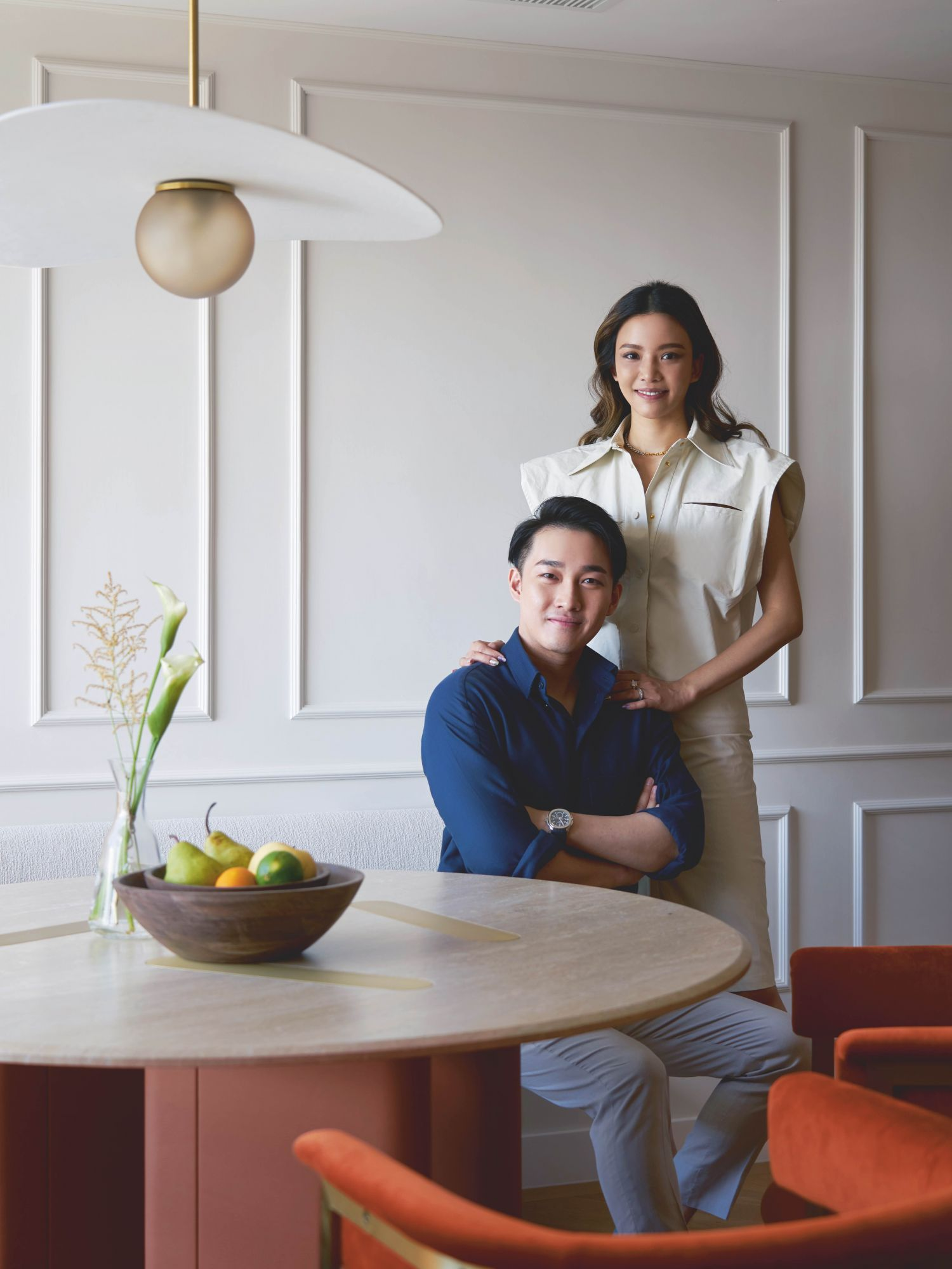 Home Tour: This Colourful Abode Was Inspired by the Couple's Favourite Restaurant in Hong Kong