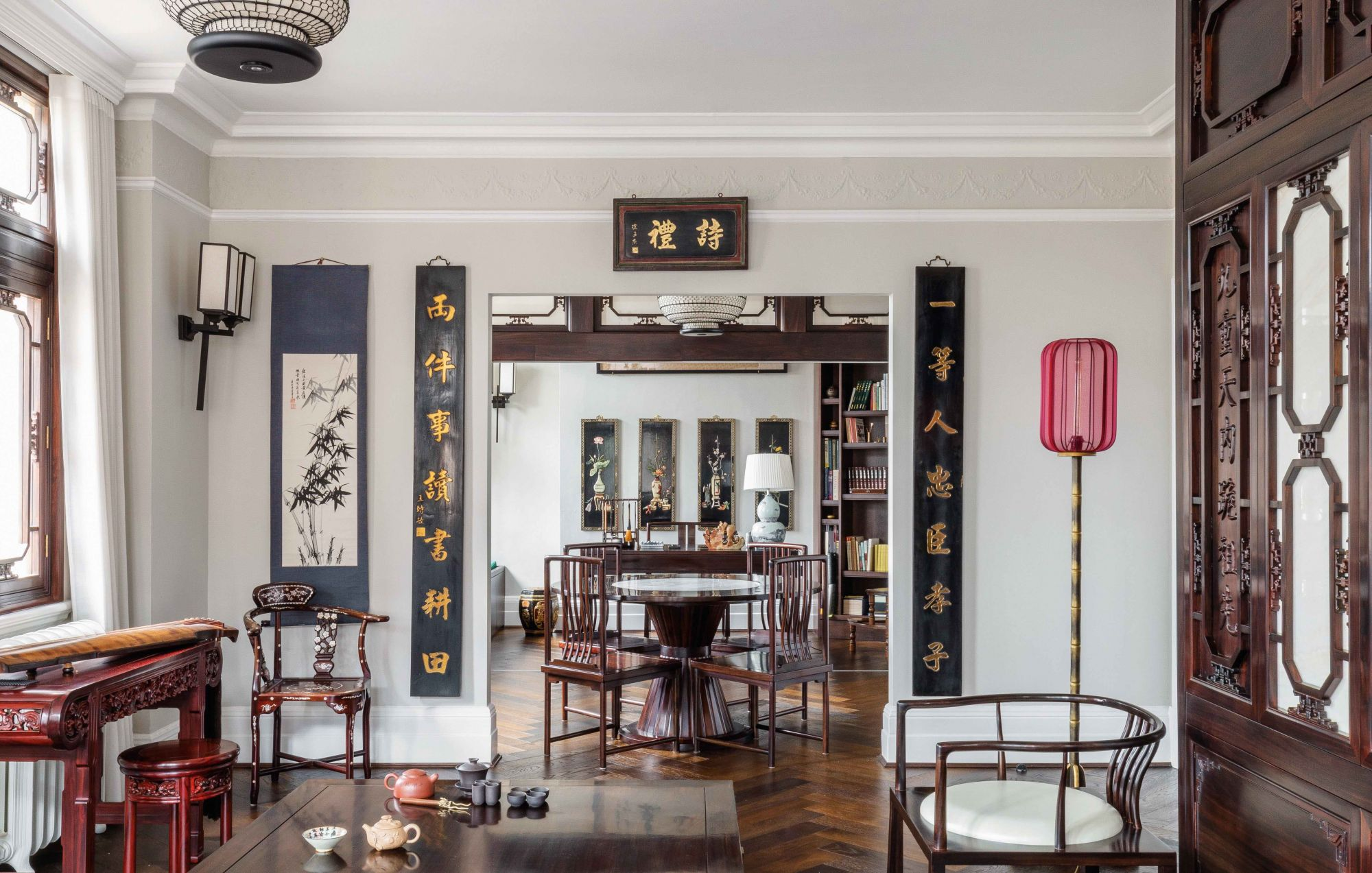 Home Tour: A London Apartment With a Unique Mix of Chinese and European Elements