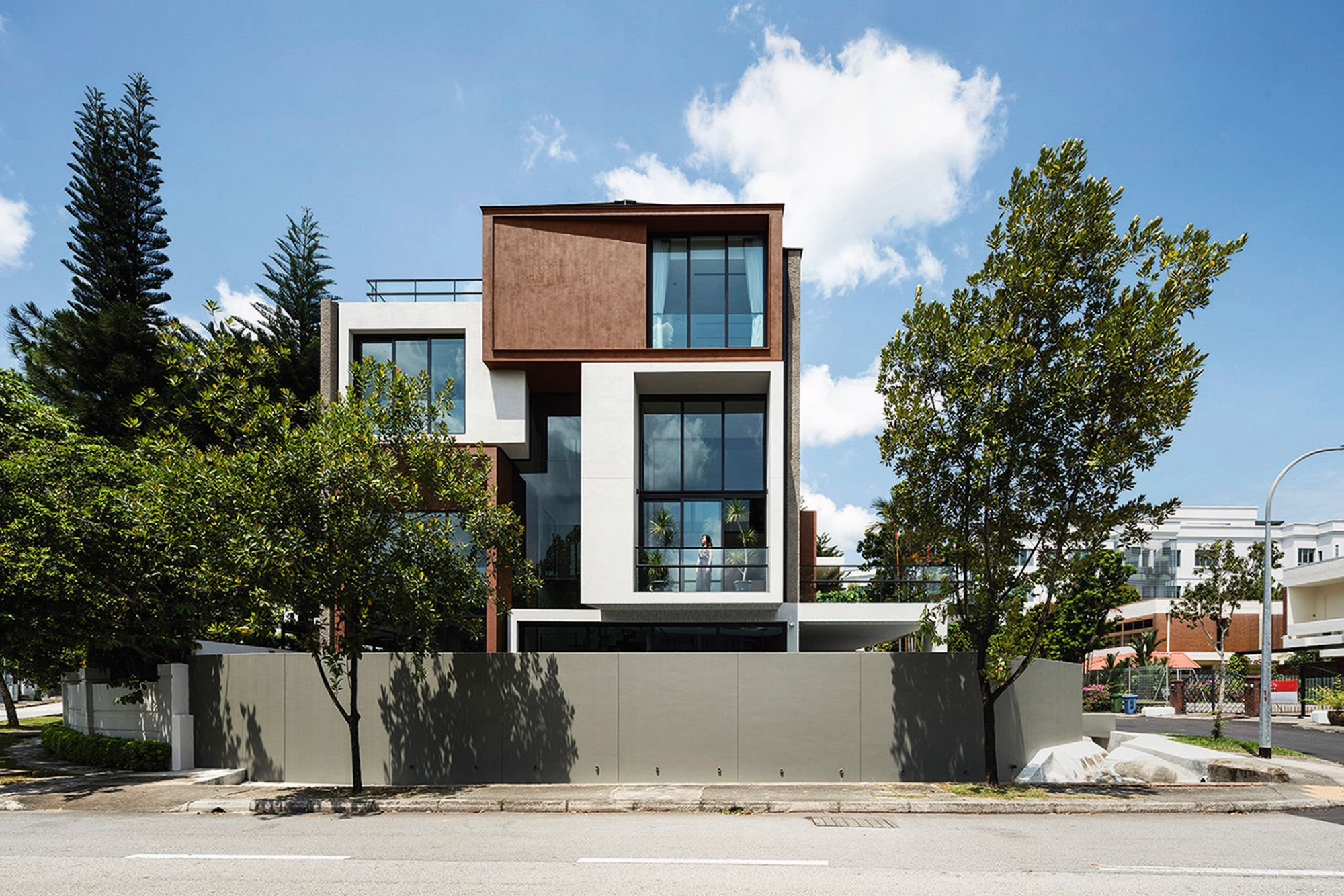 Home Tour: A Semi-Detached House By Park + Associates With Playful Split-Levels
