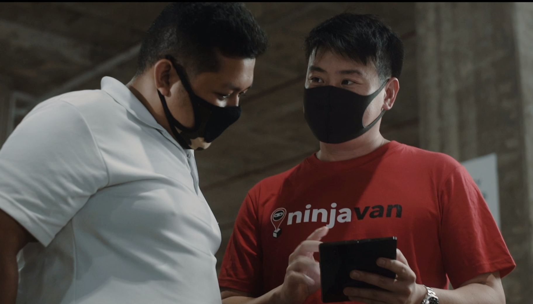 Why The Samsung Galaxy Z Fold2 is Indispensable For Ninja Van CEO Lai Chang Wen