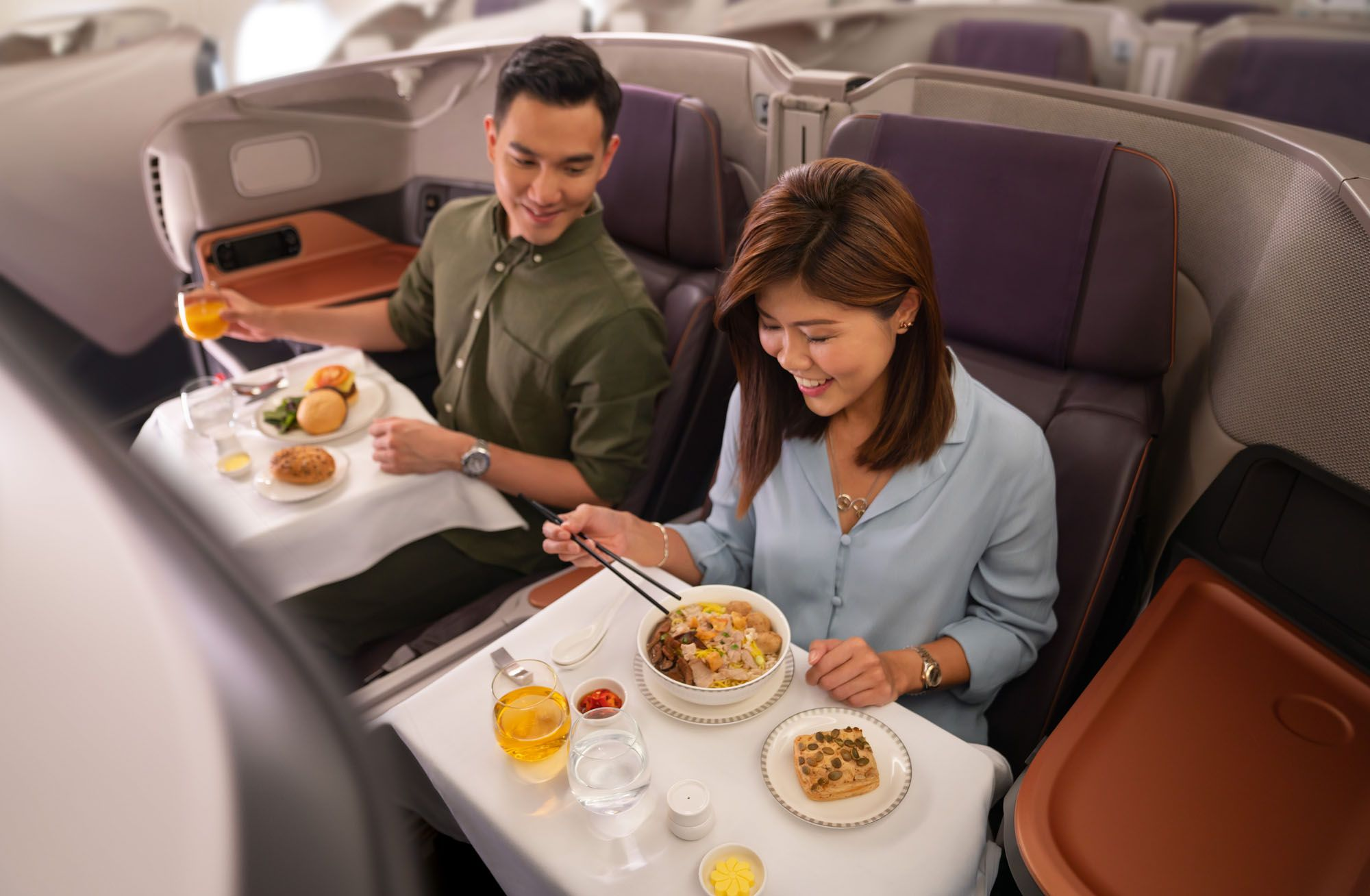 Singapore Airlines Restaurant A380 at Changi: A Dining Experience That Left Us on a High