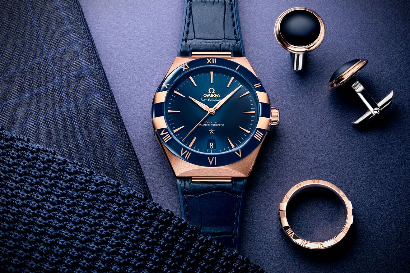 Jewels & Time 2020: The Omega Constellation Gents' Collection Gets a New 41mm Range