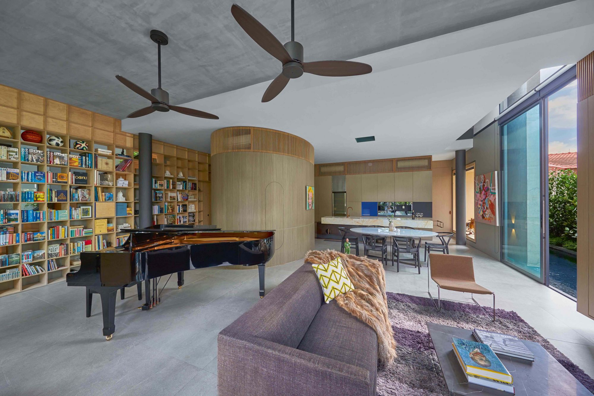 Home Tour: How a Singapore Architect's New House Became a Space For Creative Experiments