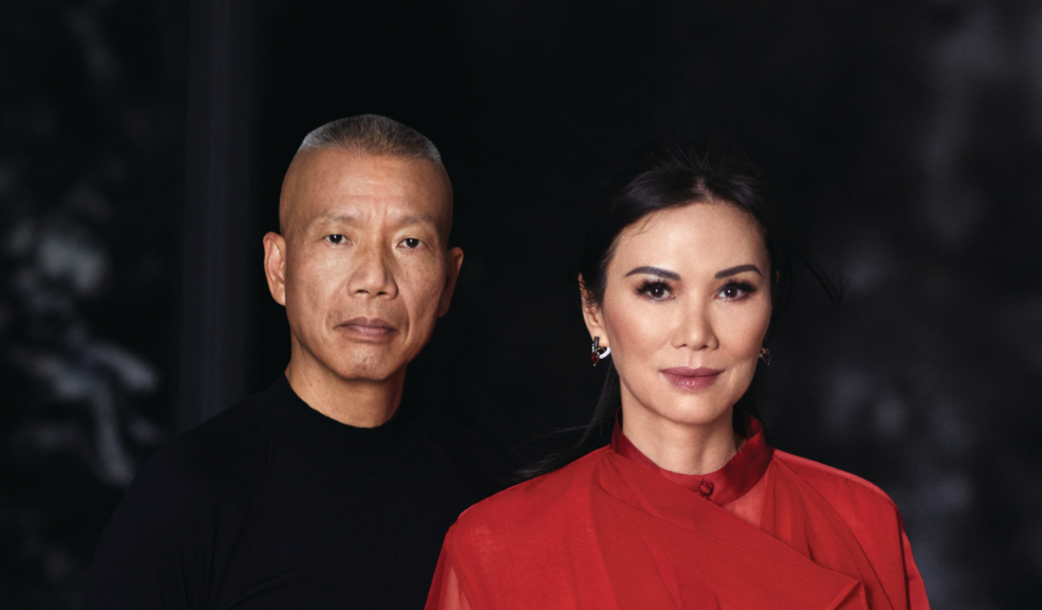 Wendi Murdoch and Artist Cai Guo-Qiang on Art, Chinese Culture and Their Friendship