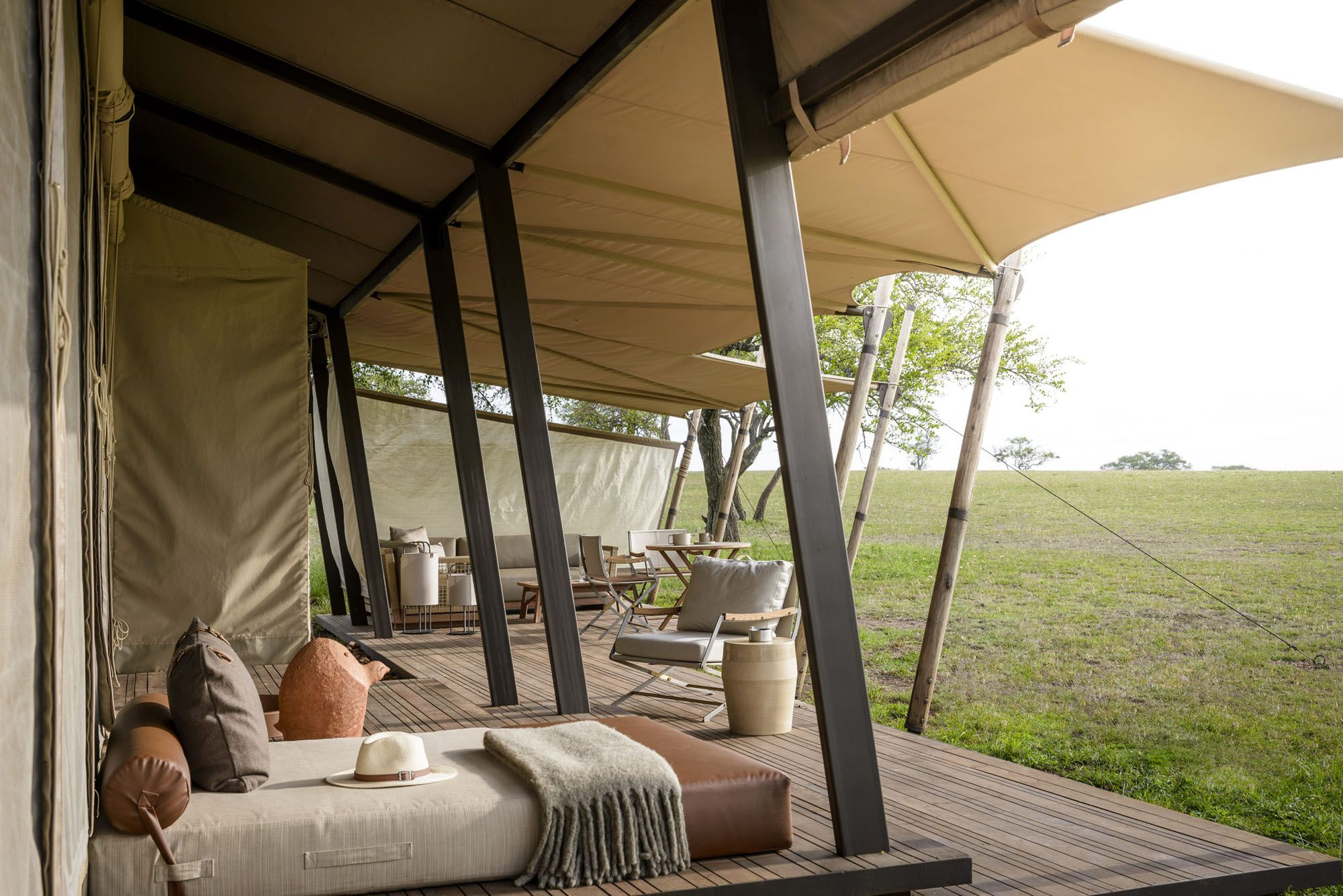 A First Look at the New Singita Sabora Tented Camp in Tanzania, Where a Sustainable Safari Trip Awaits