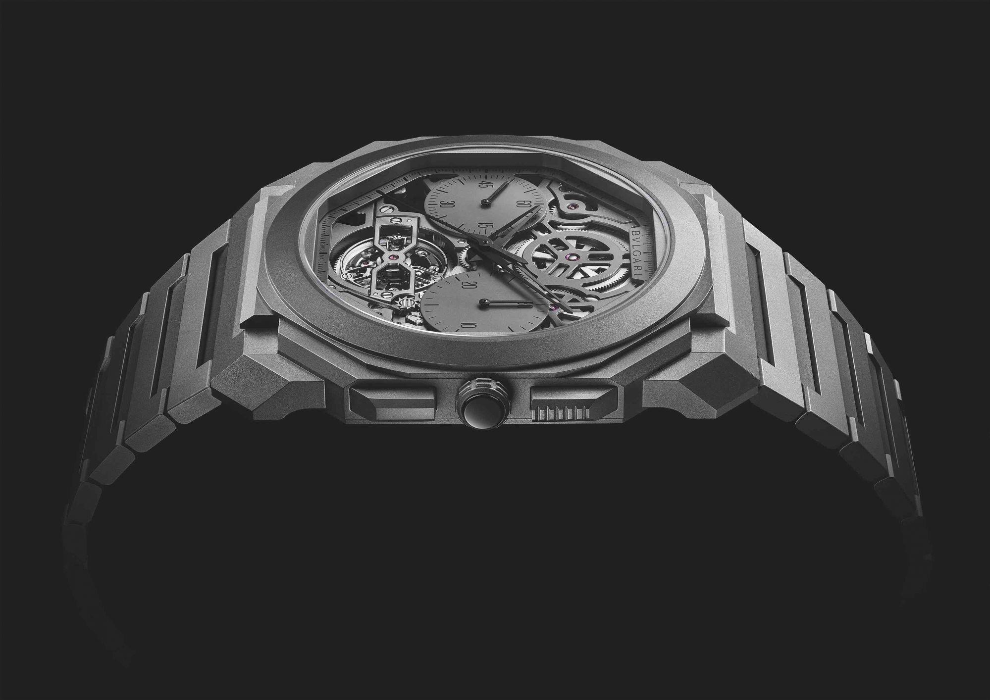 Jewels & Time 2020: Bulgari's Groundbreaking Octo Finissimo Tourbillon Chronograph Skeleton Automatic