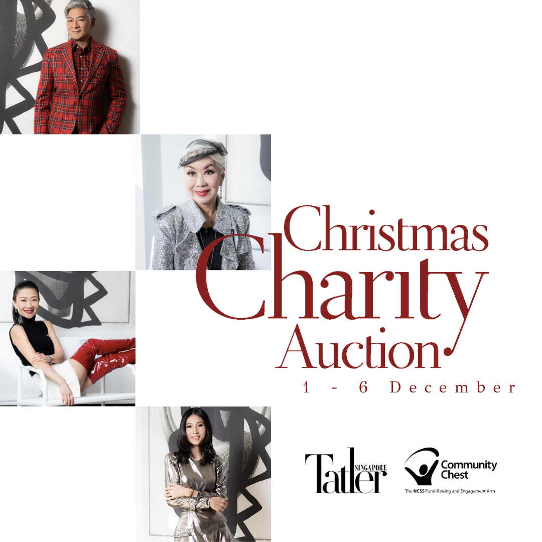 All You Need to Know About the Tatler Christmas Charity Auction With Community Chest Singapore