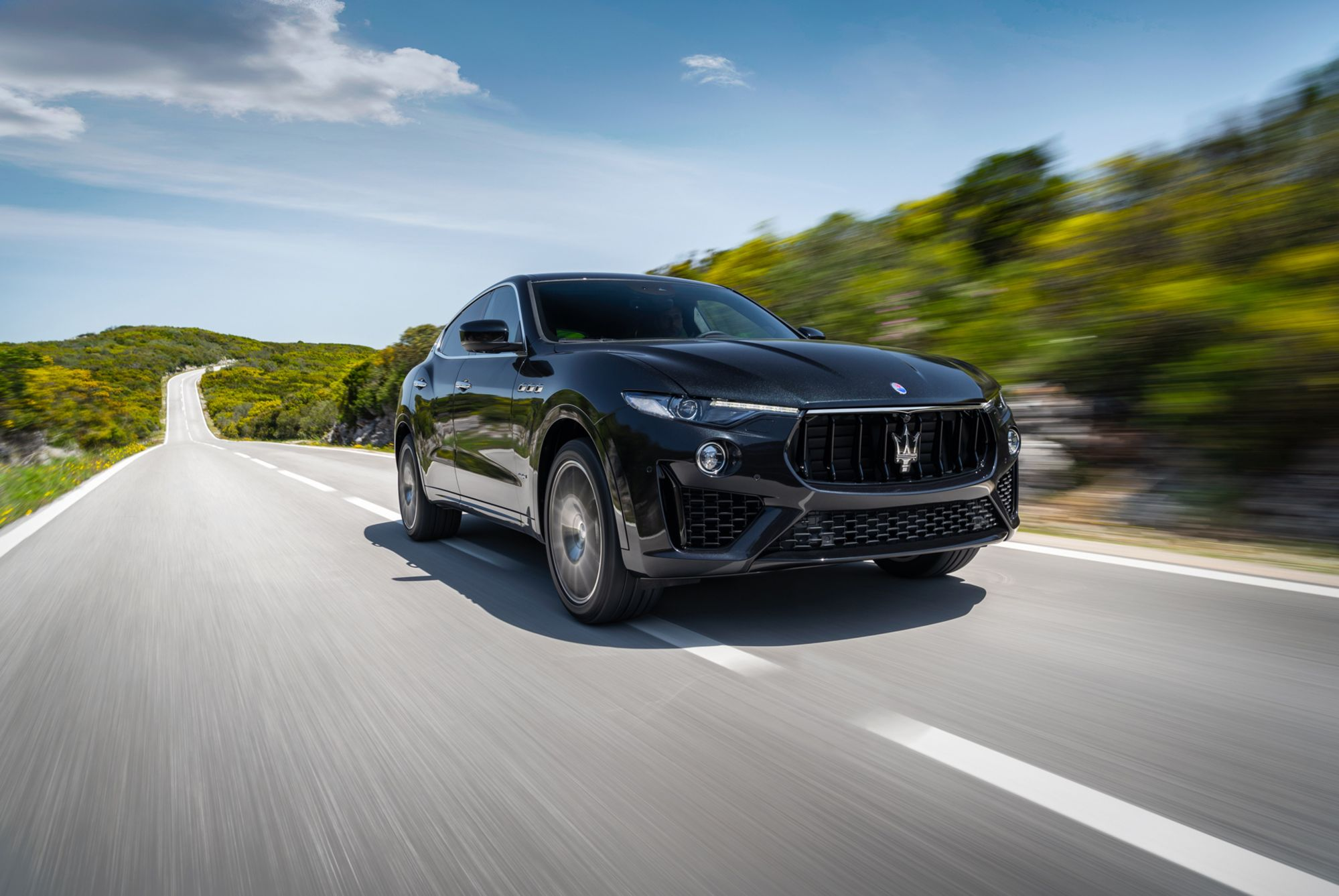 Drive Into the New Year With the Maserati Levante V6