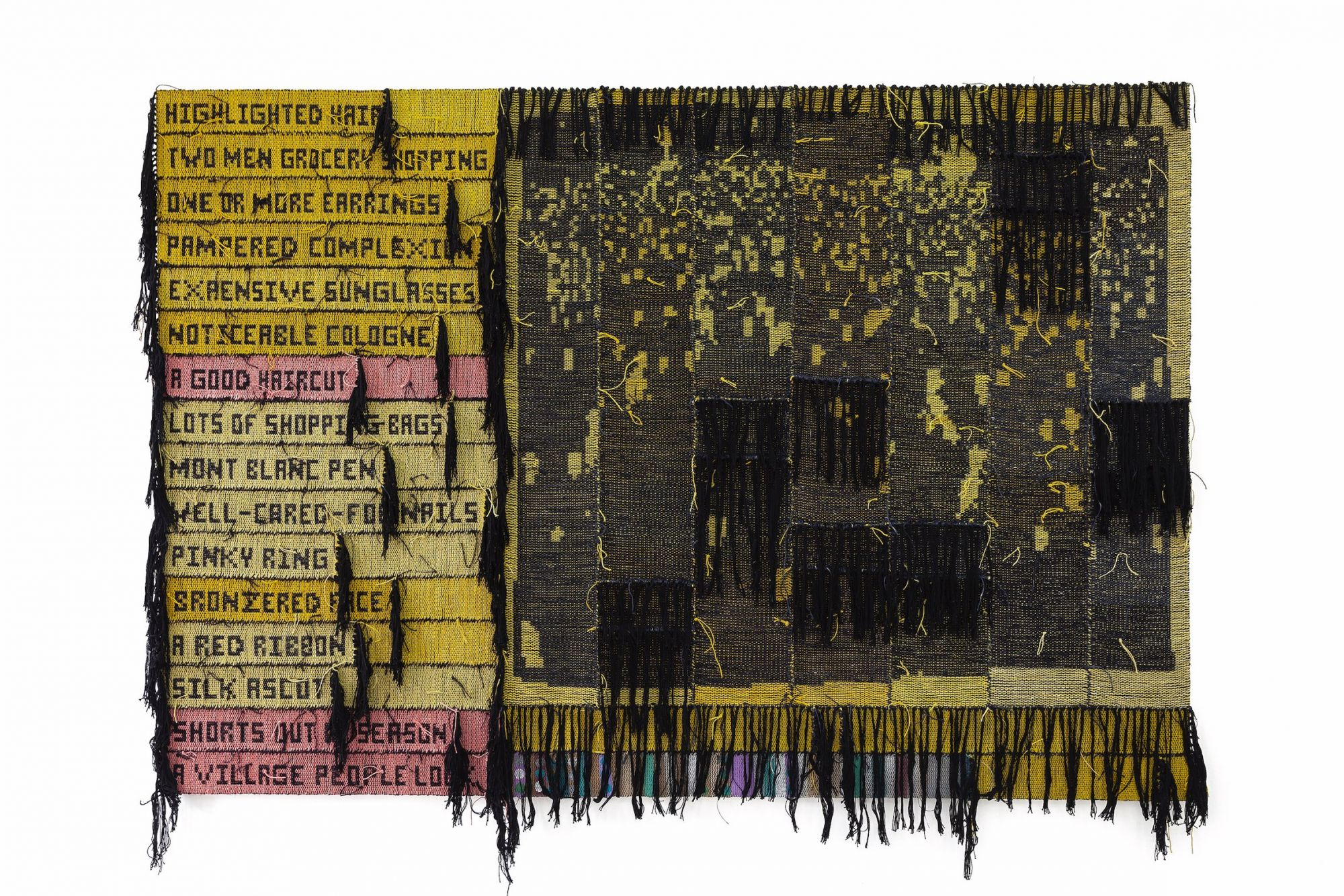'A Positive Light' by American textile artist Josh Faught