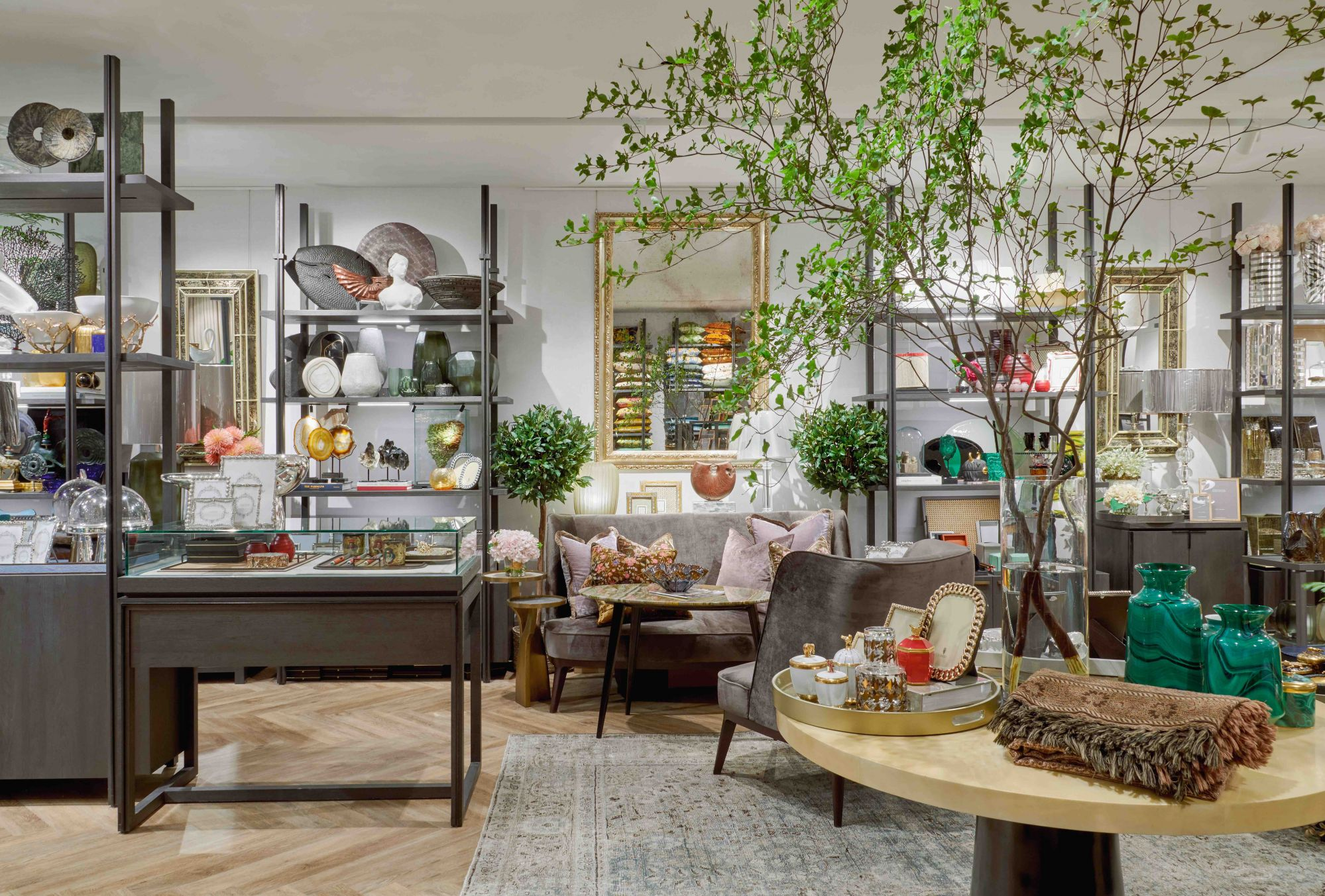 The Strange & Deranged flagship store is a cosy space with a curated selection of homeware and decor objects