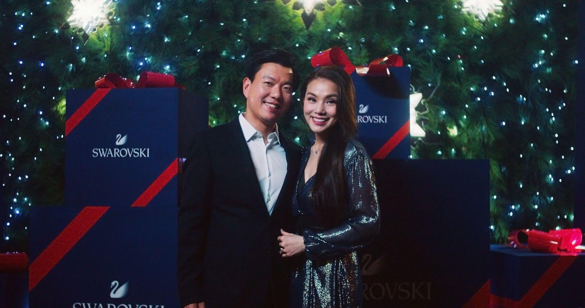 Where Does Society Couple Clinton Ang and Tina Cheng Shop at Raffles City?