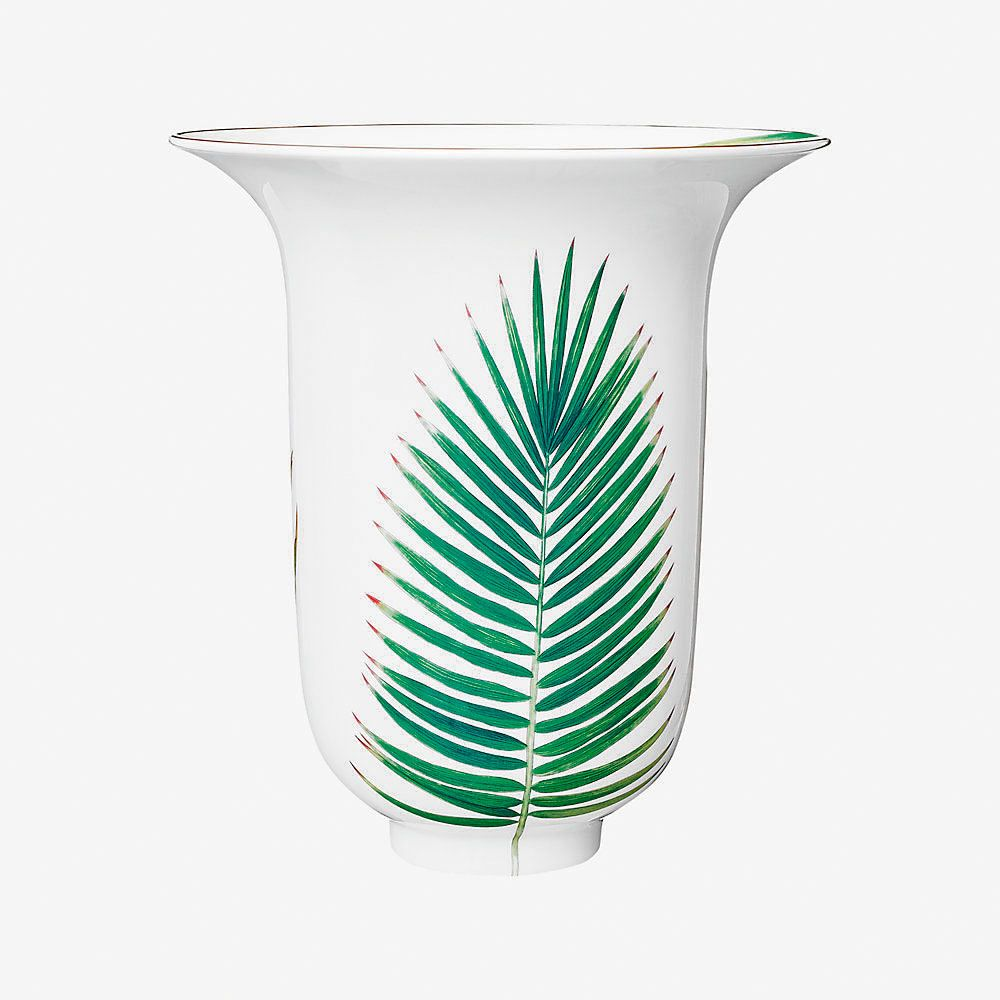 The Passifolia vase from Hermès