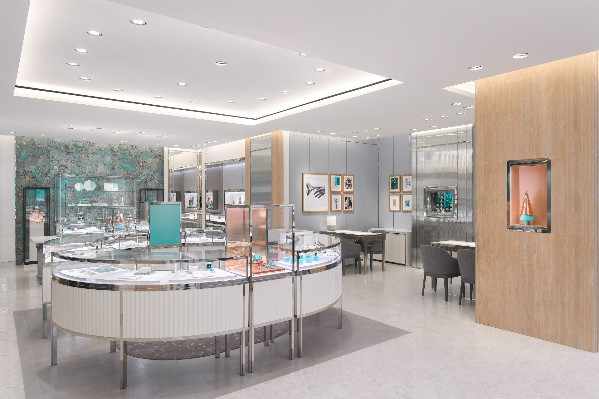 An exclusive array of home accessories is available at the Tiffany & Co boutique in Takashimaya Shopping Centre
