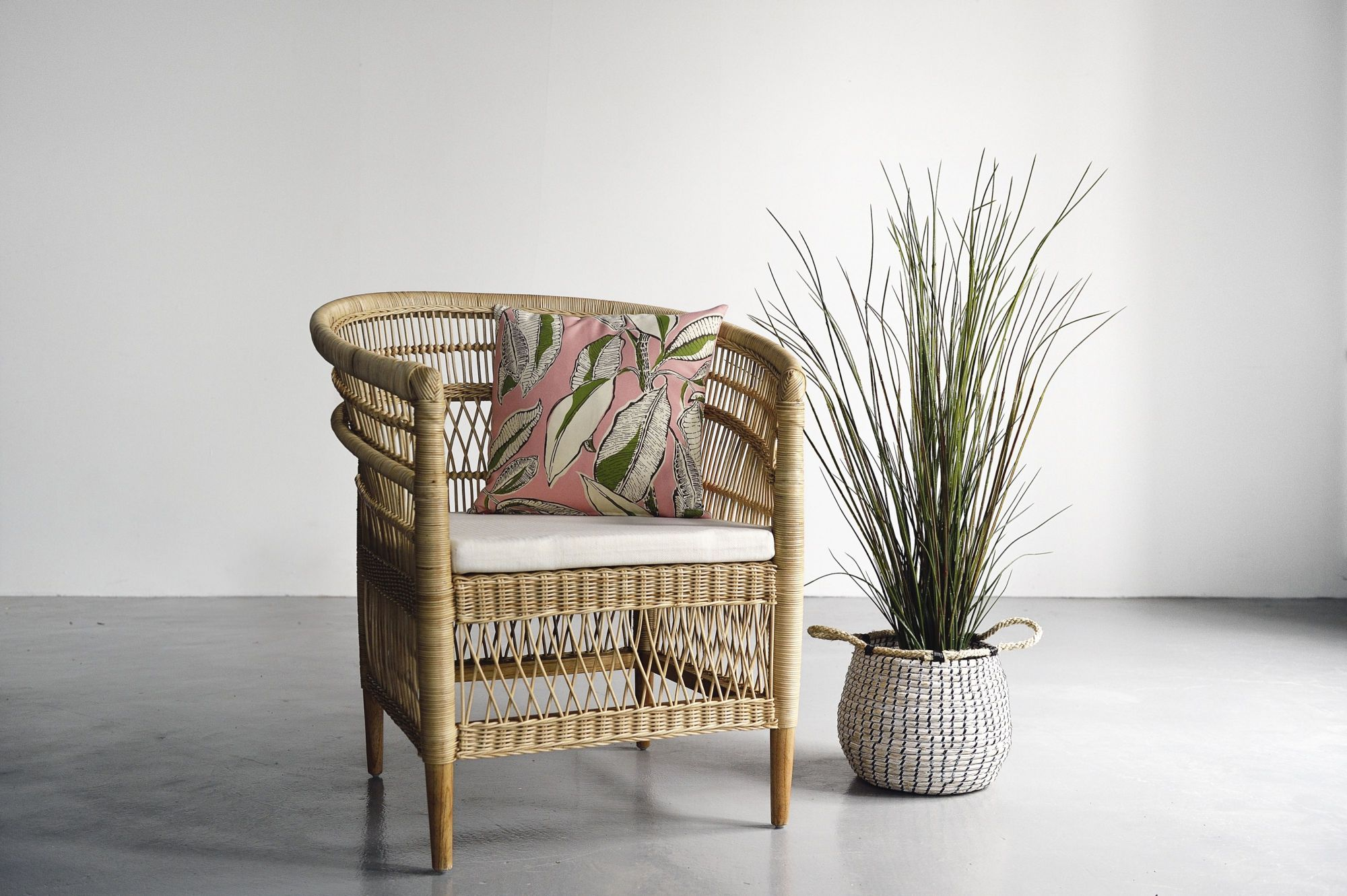 Malawi rattan chairs from Island Living, available from tatlerhomescurates.com