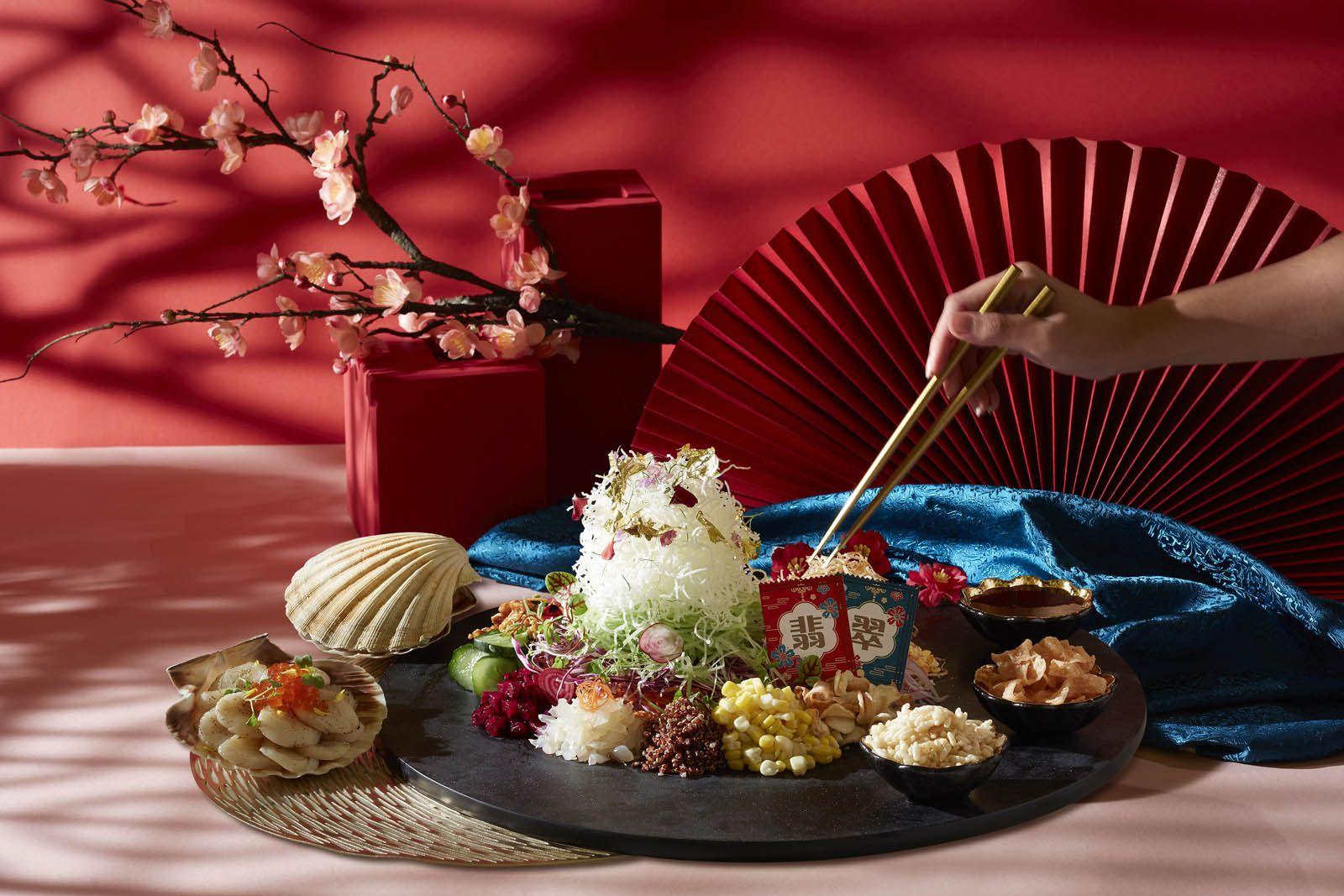 Season of Wealth Golden Scallop Yu Sheng