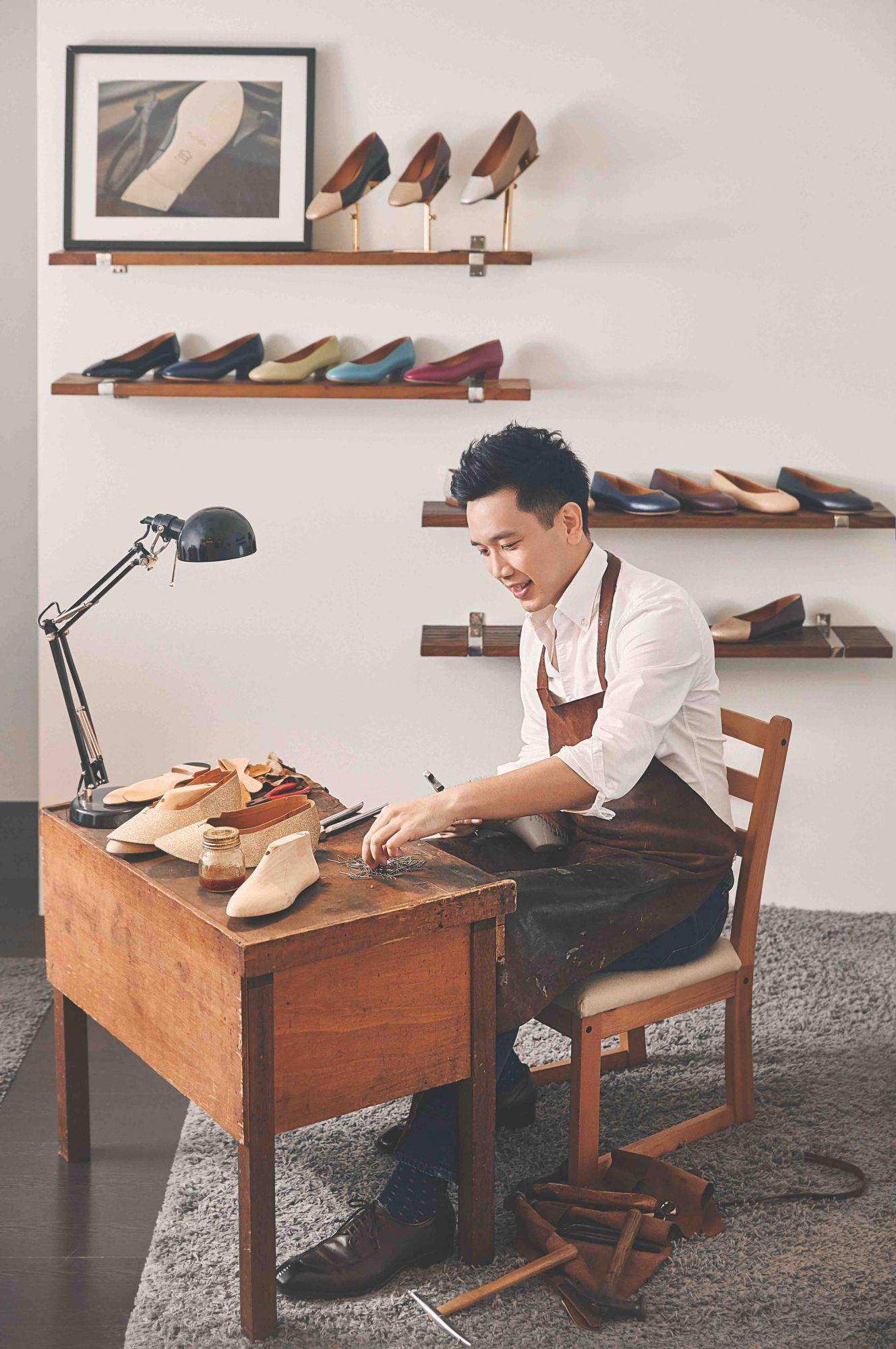 Singaporean Shoemaker Josh Leong Shares His Love of Leather and Functional Footwear