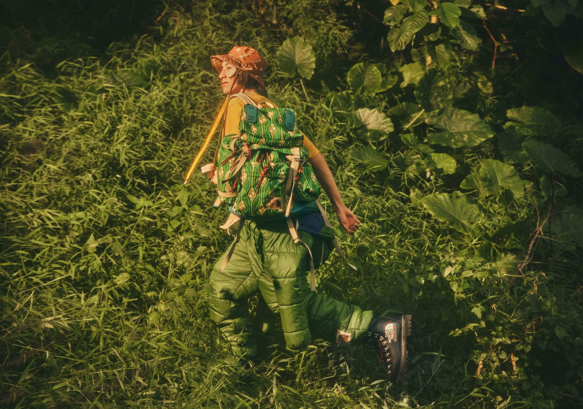The North Face x Gucci: Brandon Leo Celebrates the Spirit of Exploration