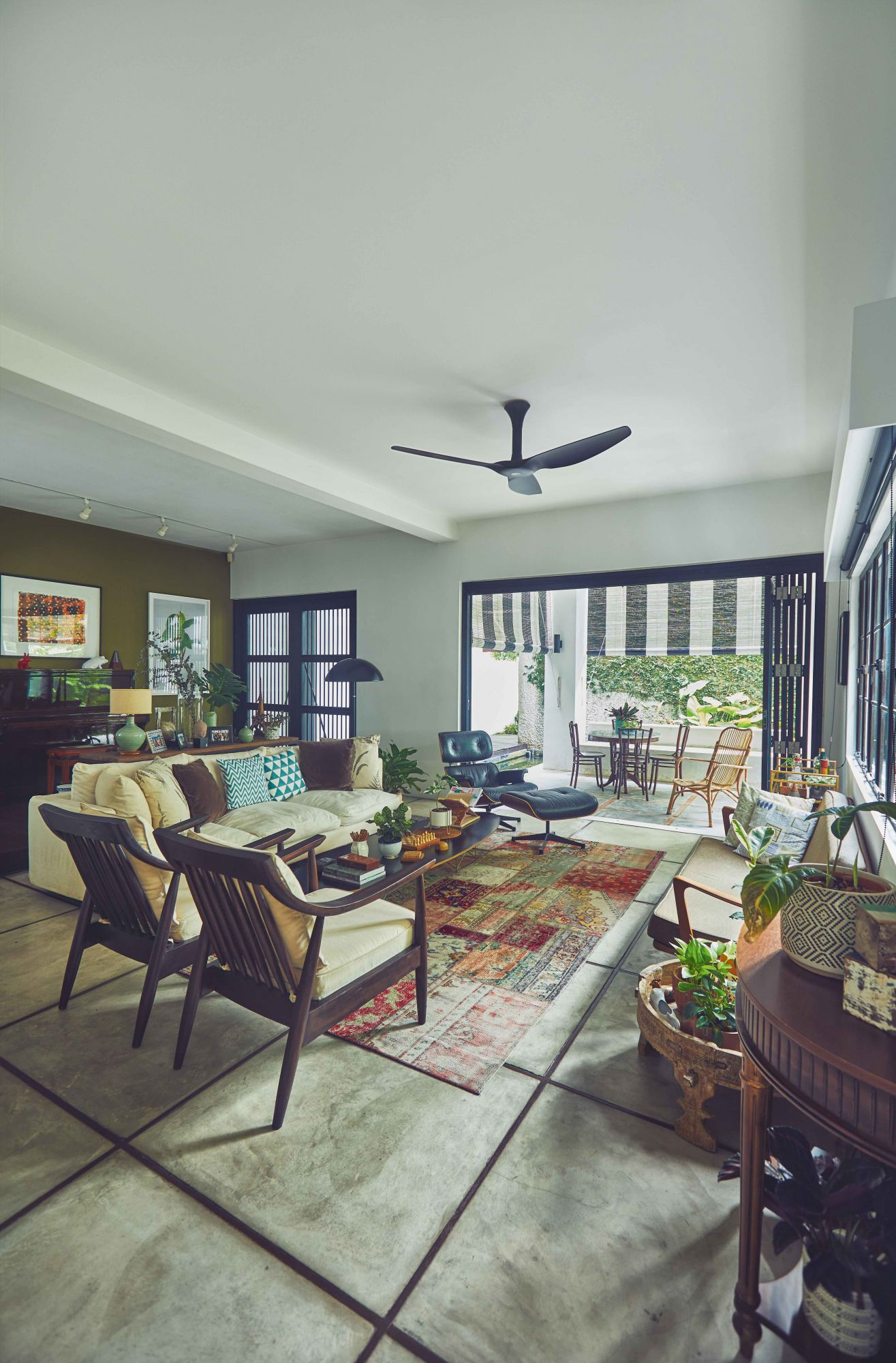 Home Tour: Actress Janice Koh Adds Vintage Touches to Her Living and Dining Rooms