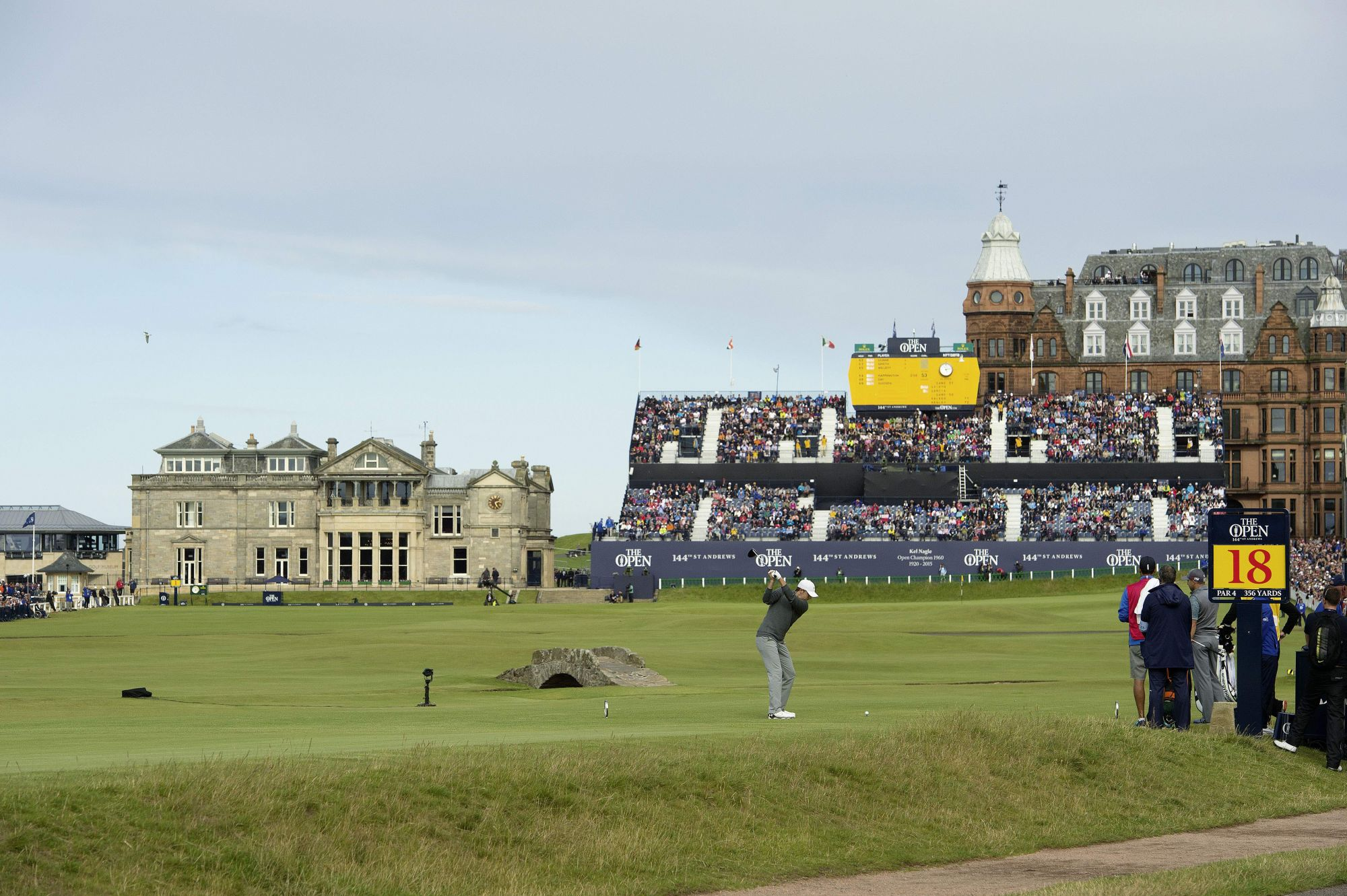 THE OPEN, OLD COURSE AT ST. ANDREWS, 2015, ROLEX TESTIMONEE JORDAN SPIETH