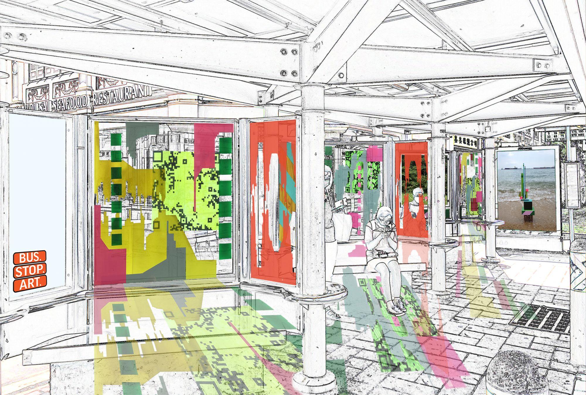 Singapore Art Week 2021: Curator Amelia Abdullahsani on the Exhibition, Bus.Stop.Art.