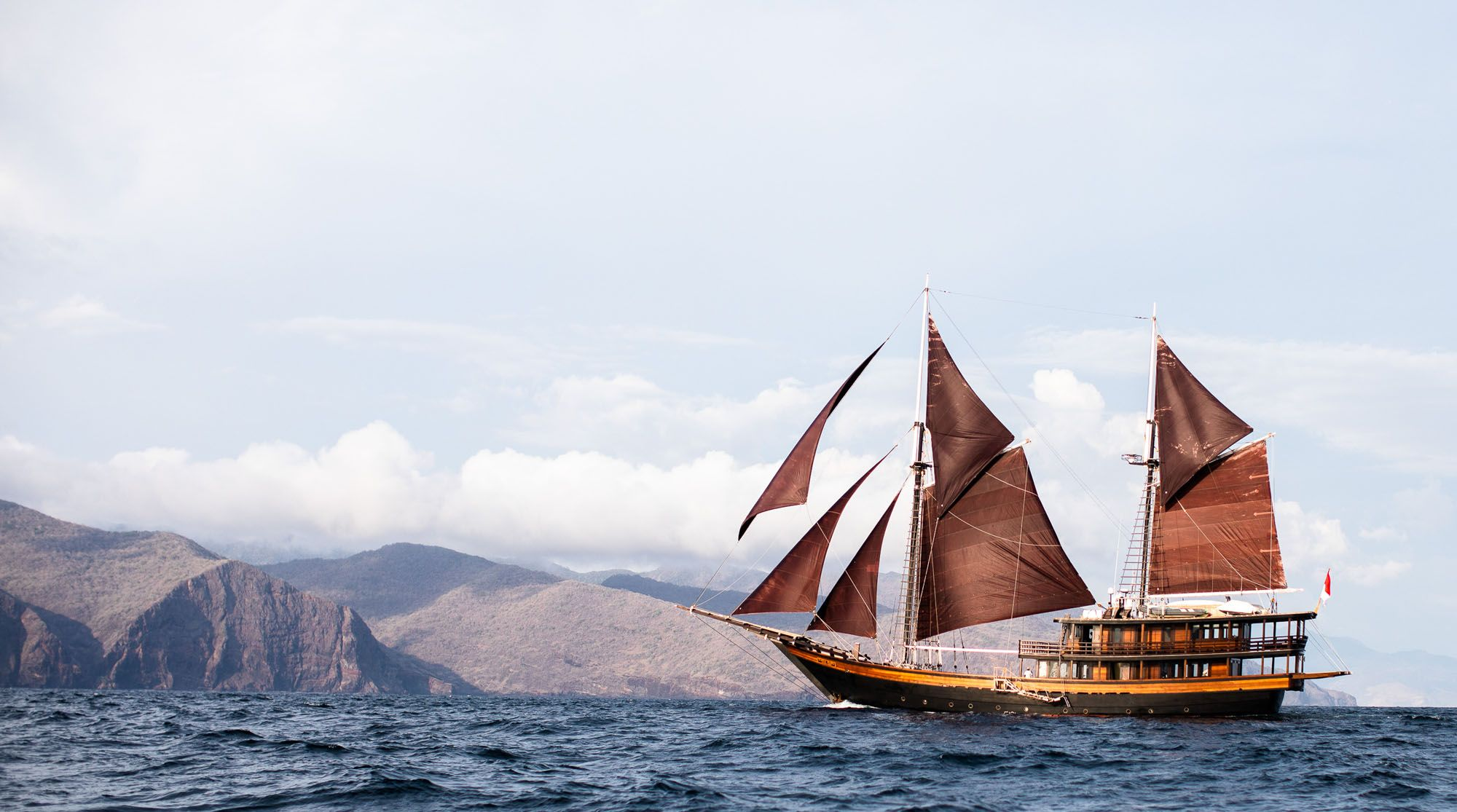 Meet Dunia Baru—A Luxury Phinisi Yacht Made For Slow Travel Dreams