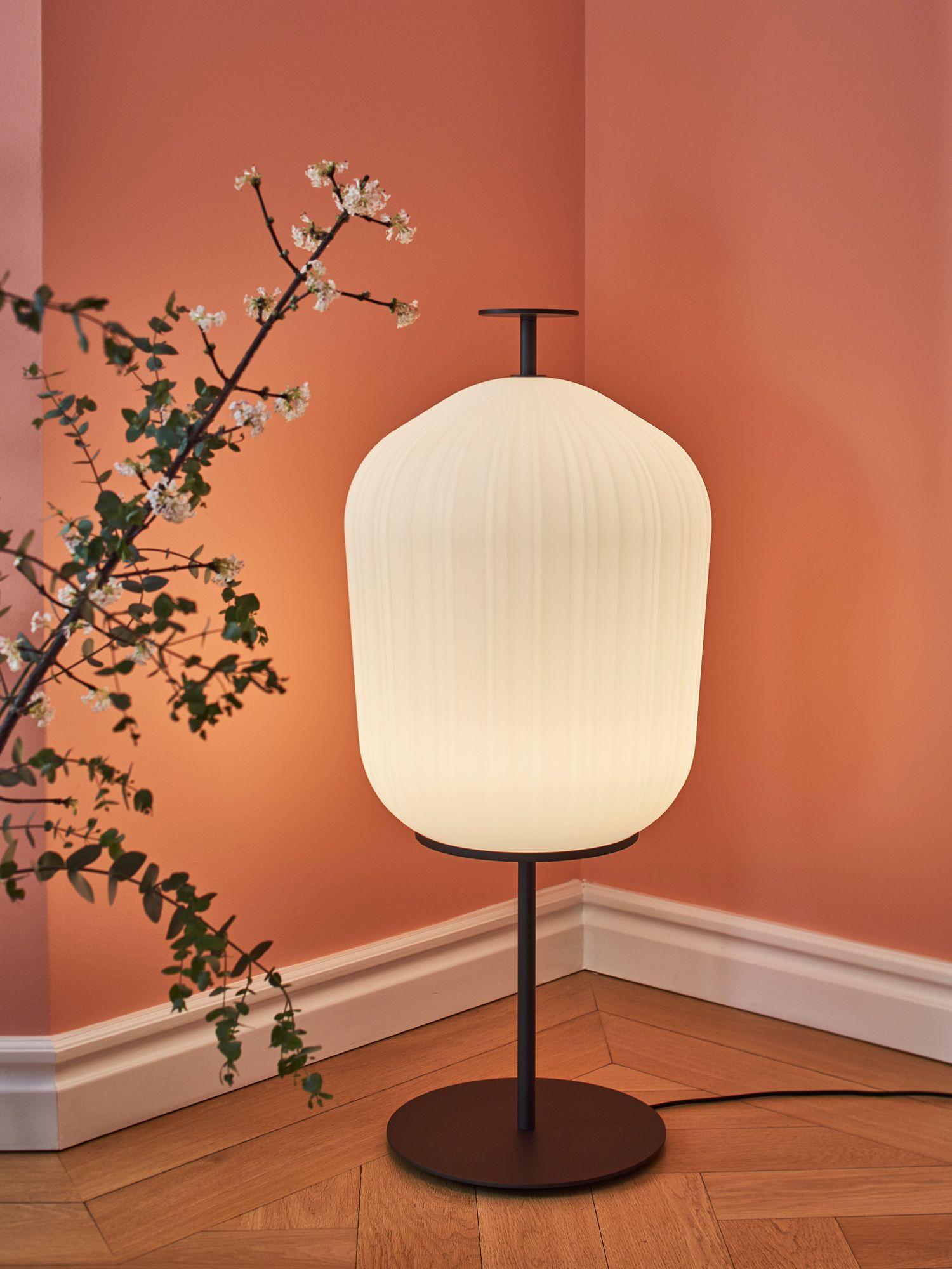 Classicon Plissée floor lamp by Sebastian Herkner, from Space Furniture