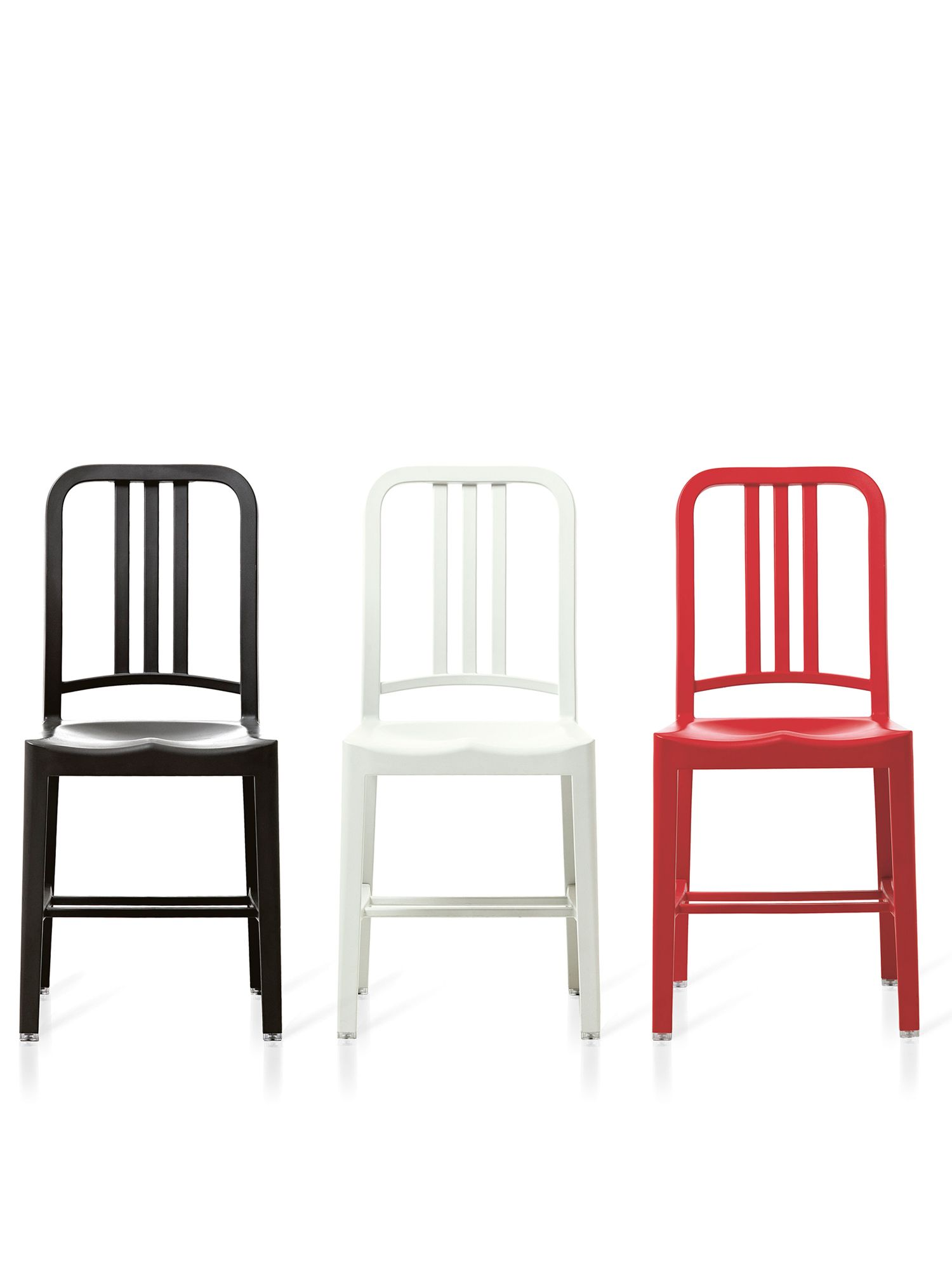 Emeco 111 Navy chairs, from Space Furniture