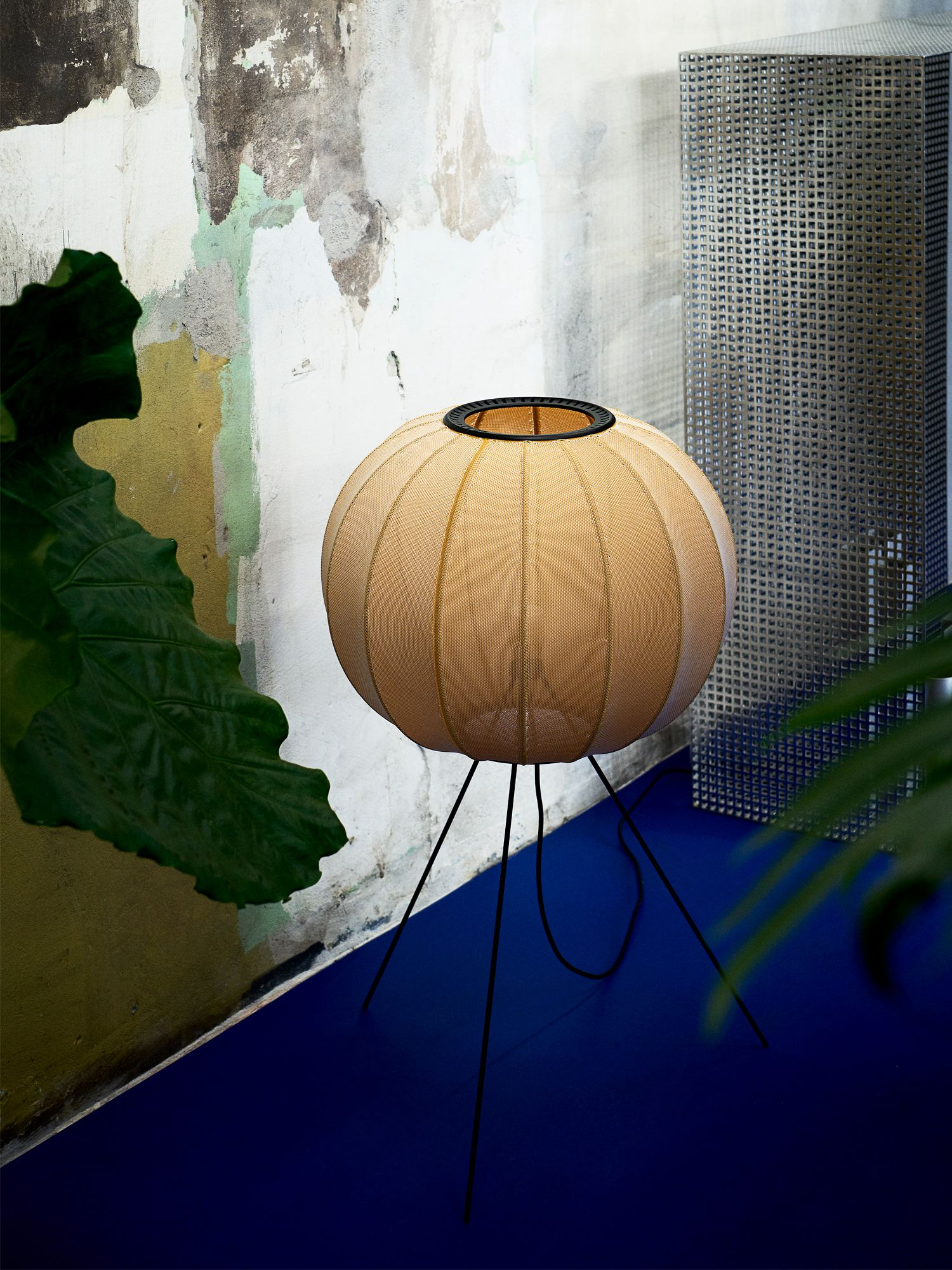 Made by Hand Knit-Wit lamp by Iskos-Berlin, from P5 Studio