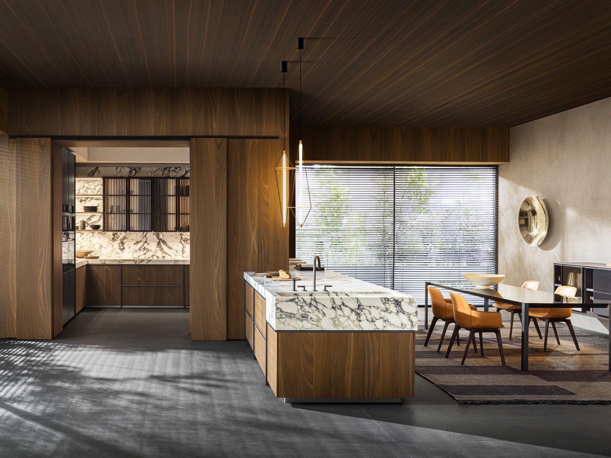 Dada Sistema 7 kitchen system by Vincent Van Duysen, from P5
