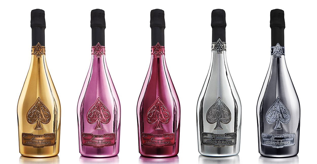 "Armand de Brignac, also known as ""Ace of Spades"""
