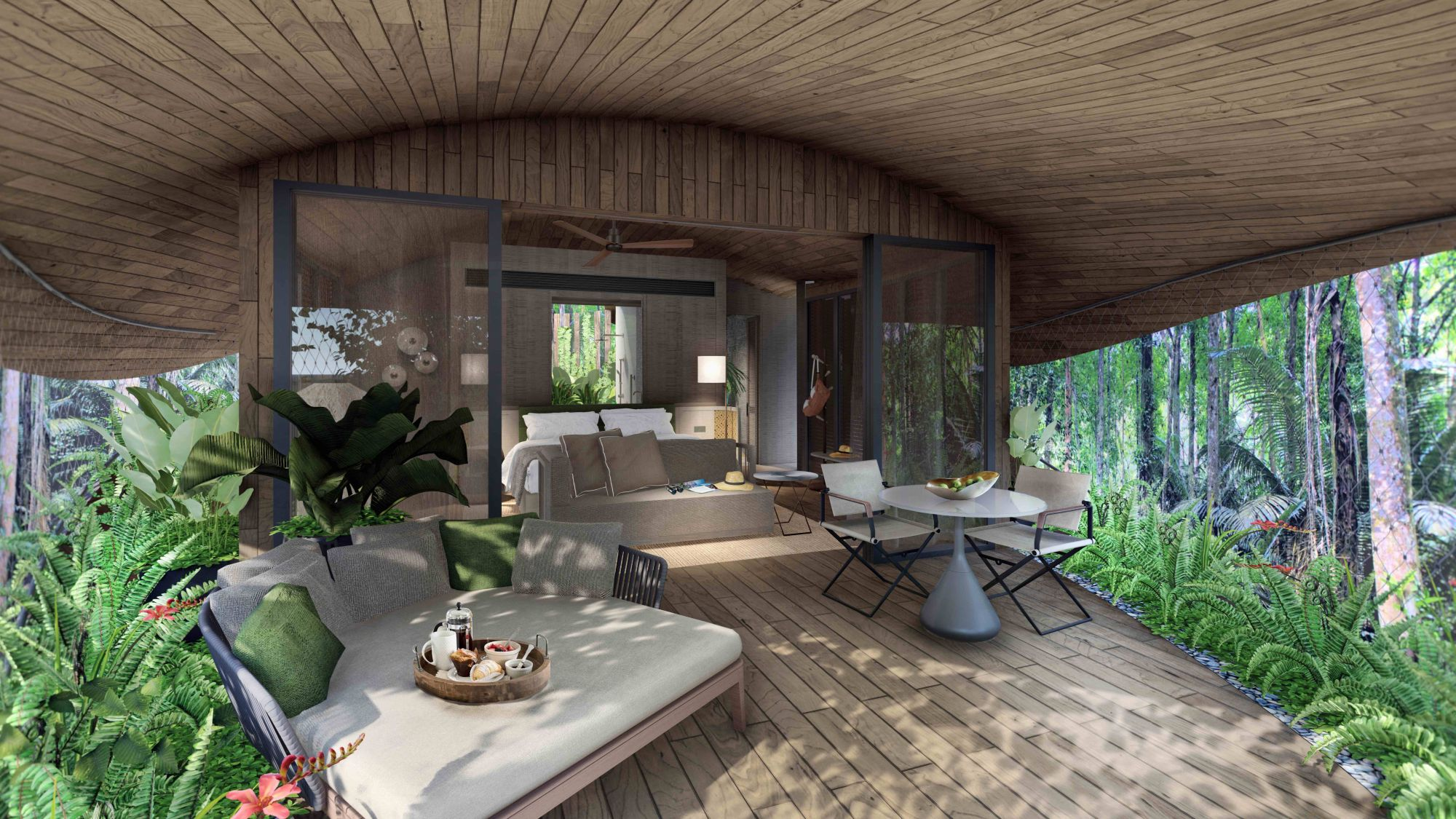5 Nature-Inspired Hotels and Resorts with Elements of Biophilic Design
