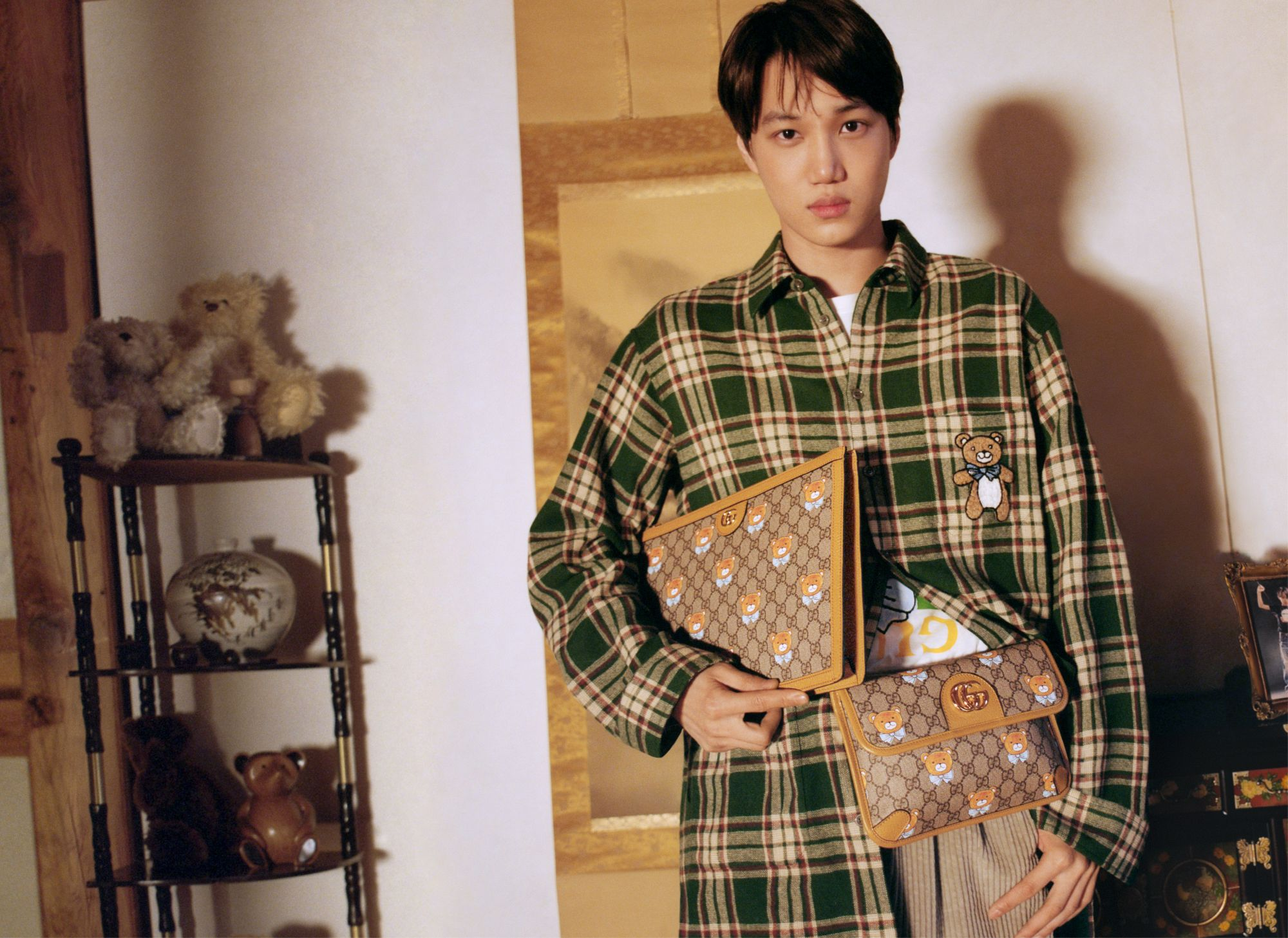 Exo's Kai Partners With Gucci For An Exclusive Collection