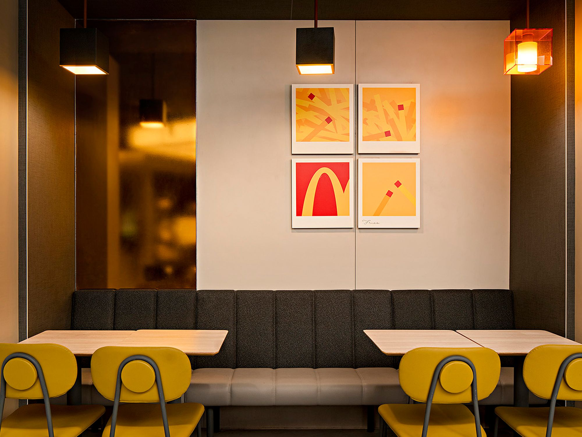 McDonald's Cube: Steve Leung Designs the Fast Food Chain's New Restaurant Concept
