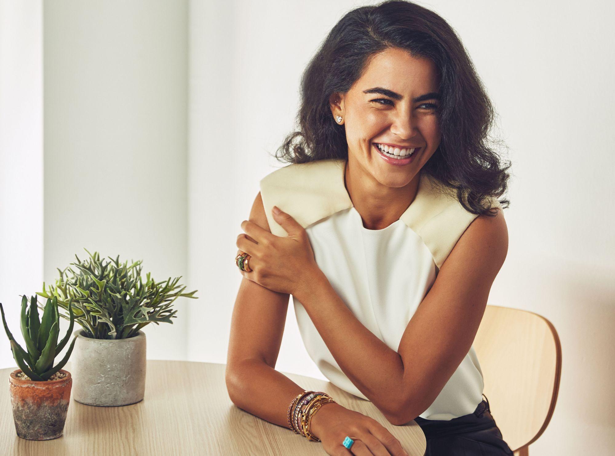How Designer Nadine Ghosn Creates Lego Brick Rings Out of Diamonds