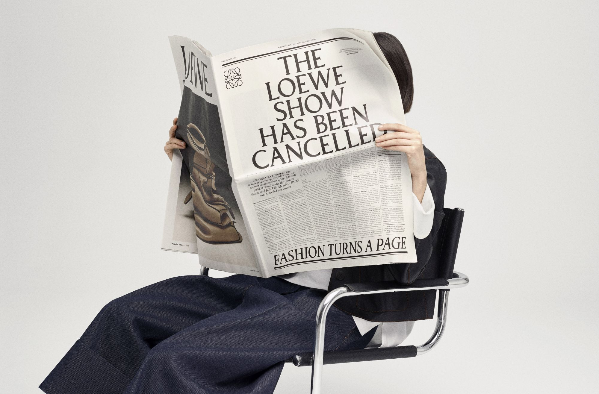 14 Brilliant Looks From Loewe FW21 That Will Lift Your Mood Instantly