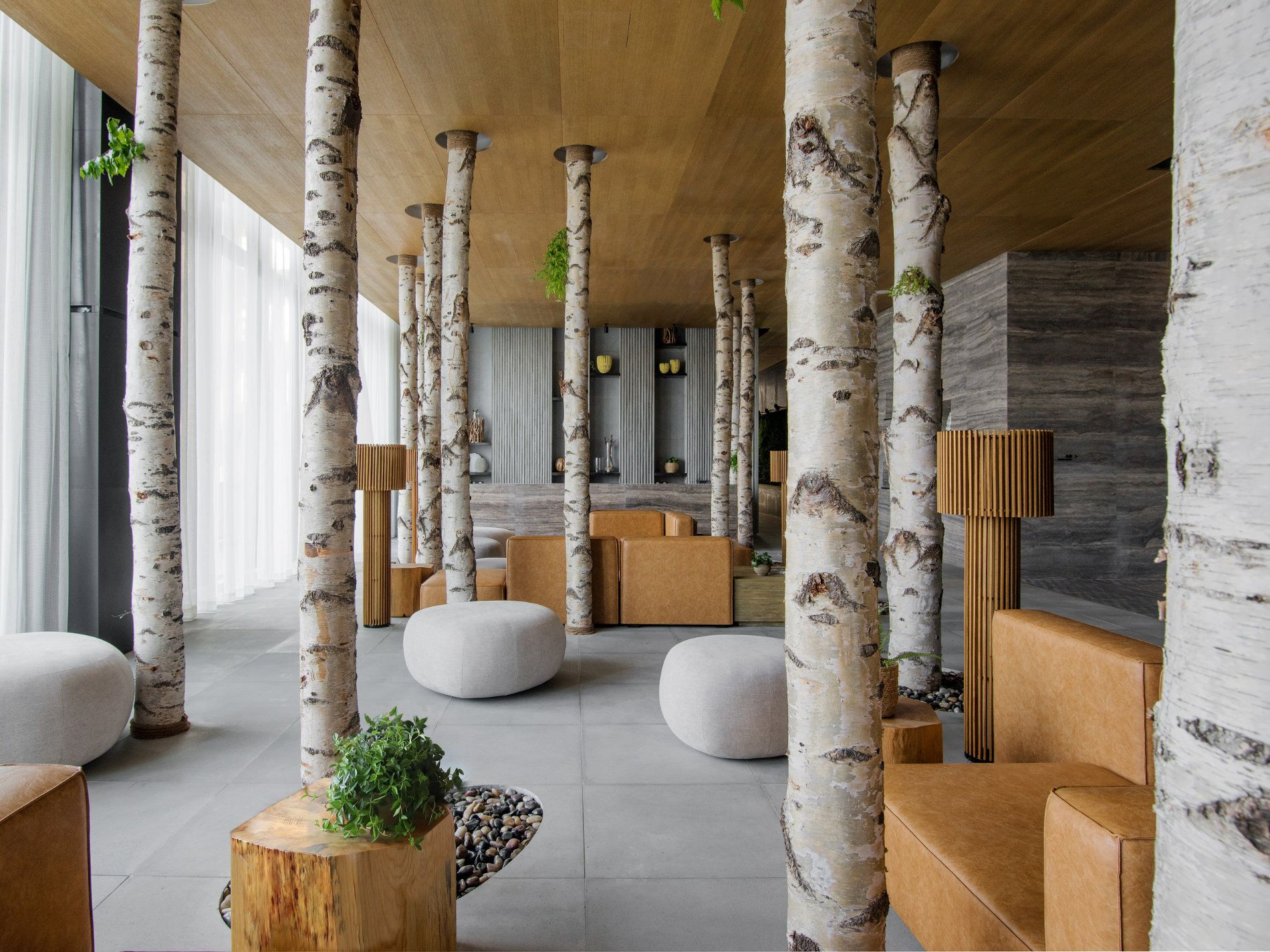6 Nature-Inspired Hotels and Resorts with Elements of Biophilic Design