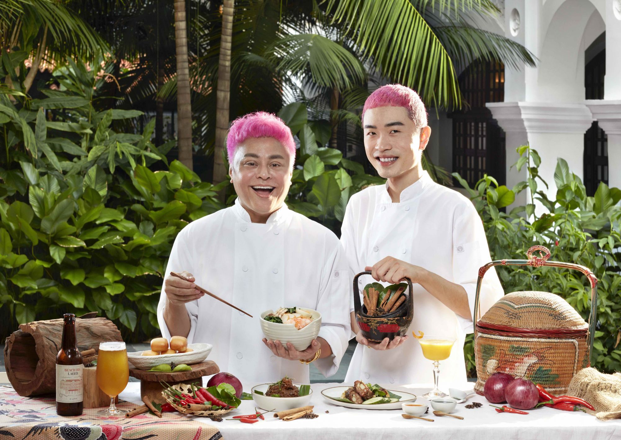 Raffles Courtyard Collaborates With Private Dining Duo Pasirpanjangboy