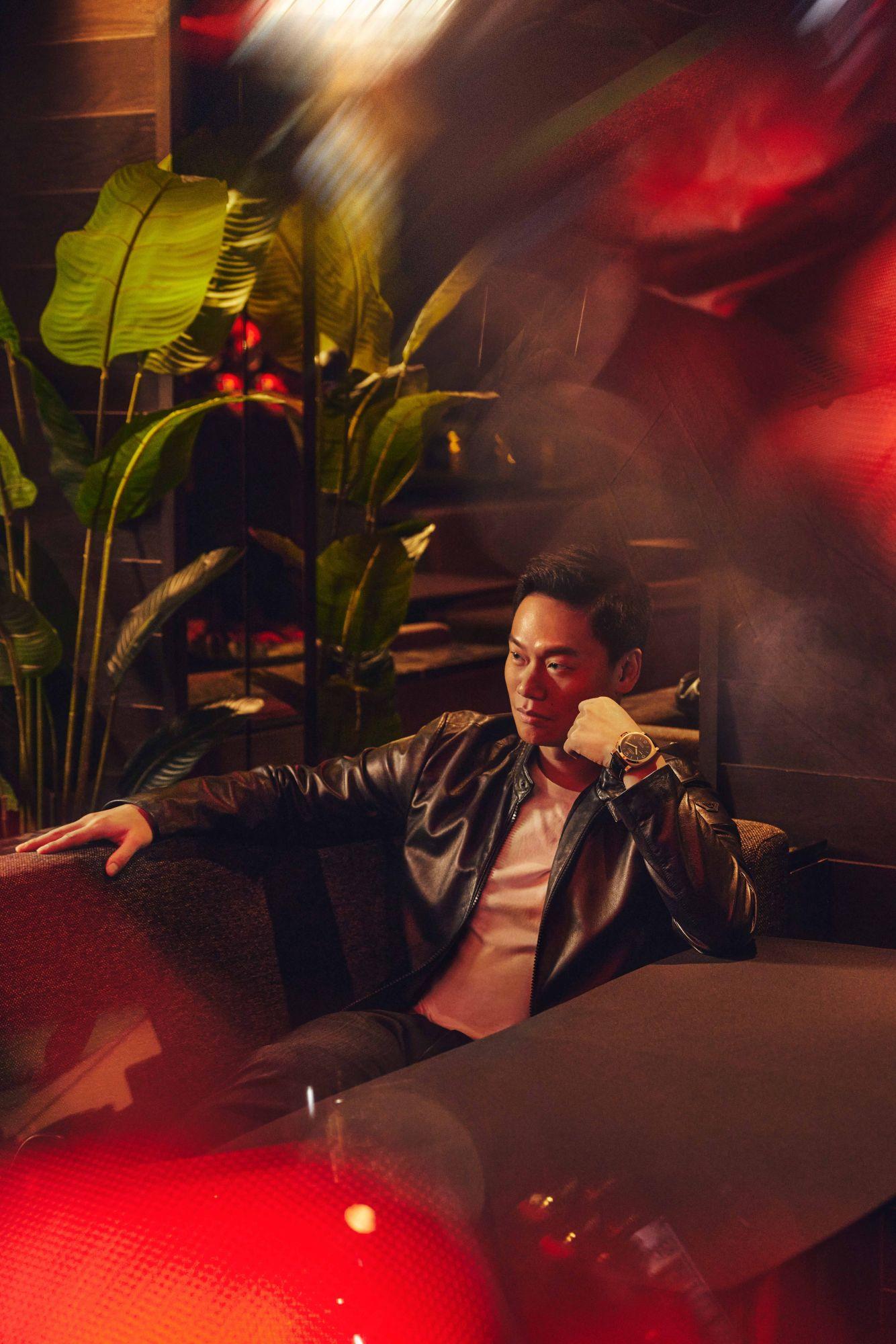 CEO of Zouk Group Andrew Li sports the Luminor Marina Goldtech - 44mm by Panerai