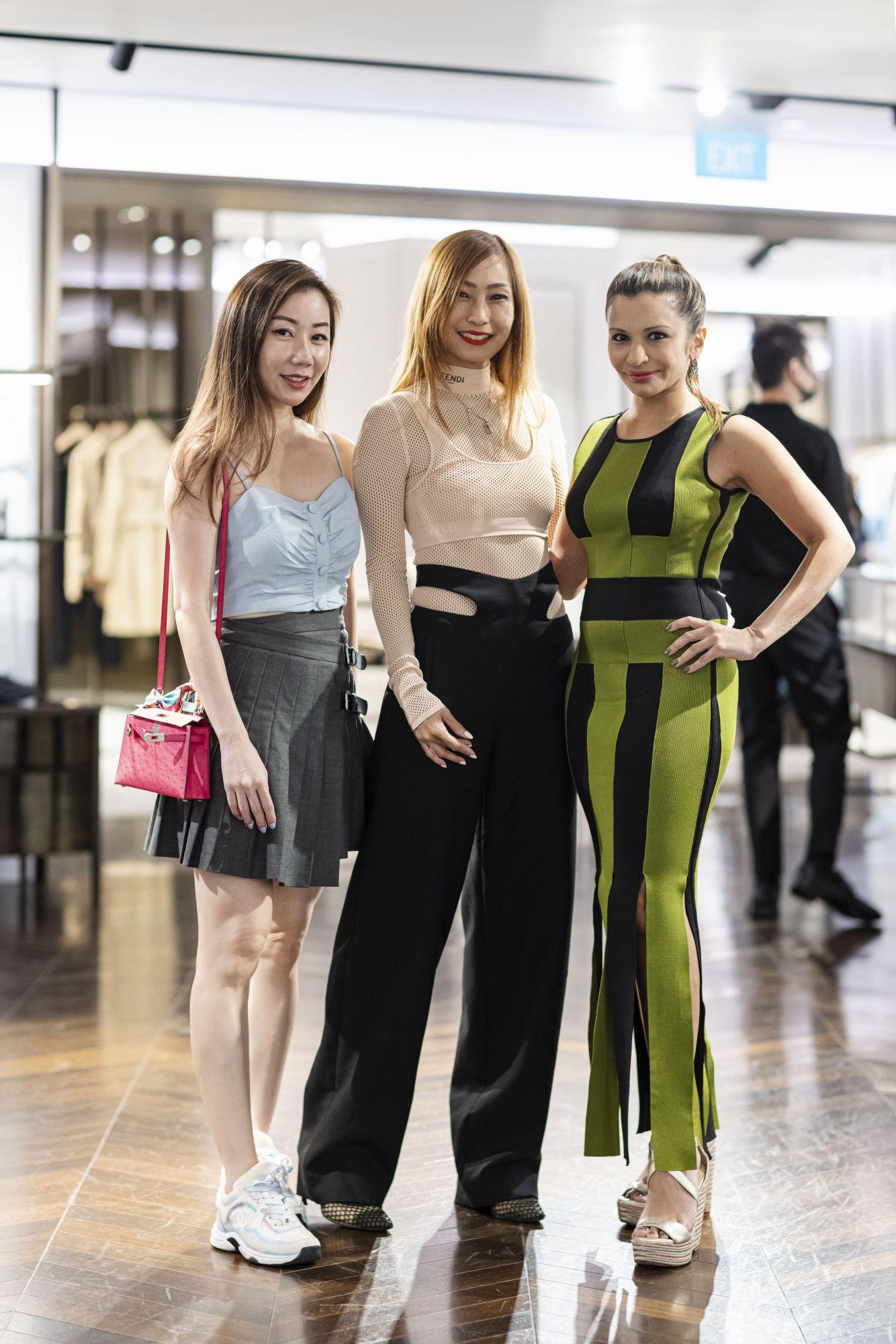 Alicia Loke, Tan Min-Li, Rasina Rubin
