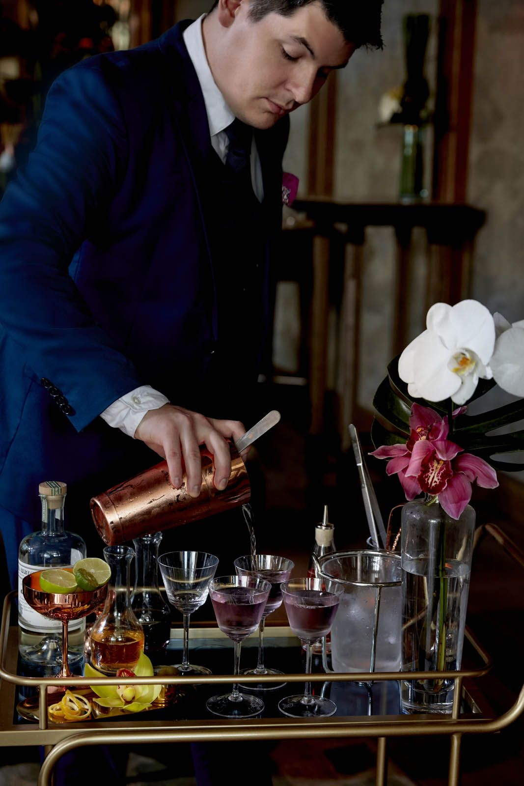 Violet Hour Martini