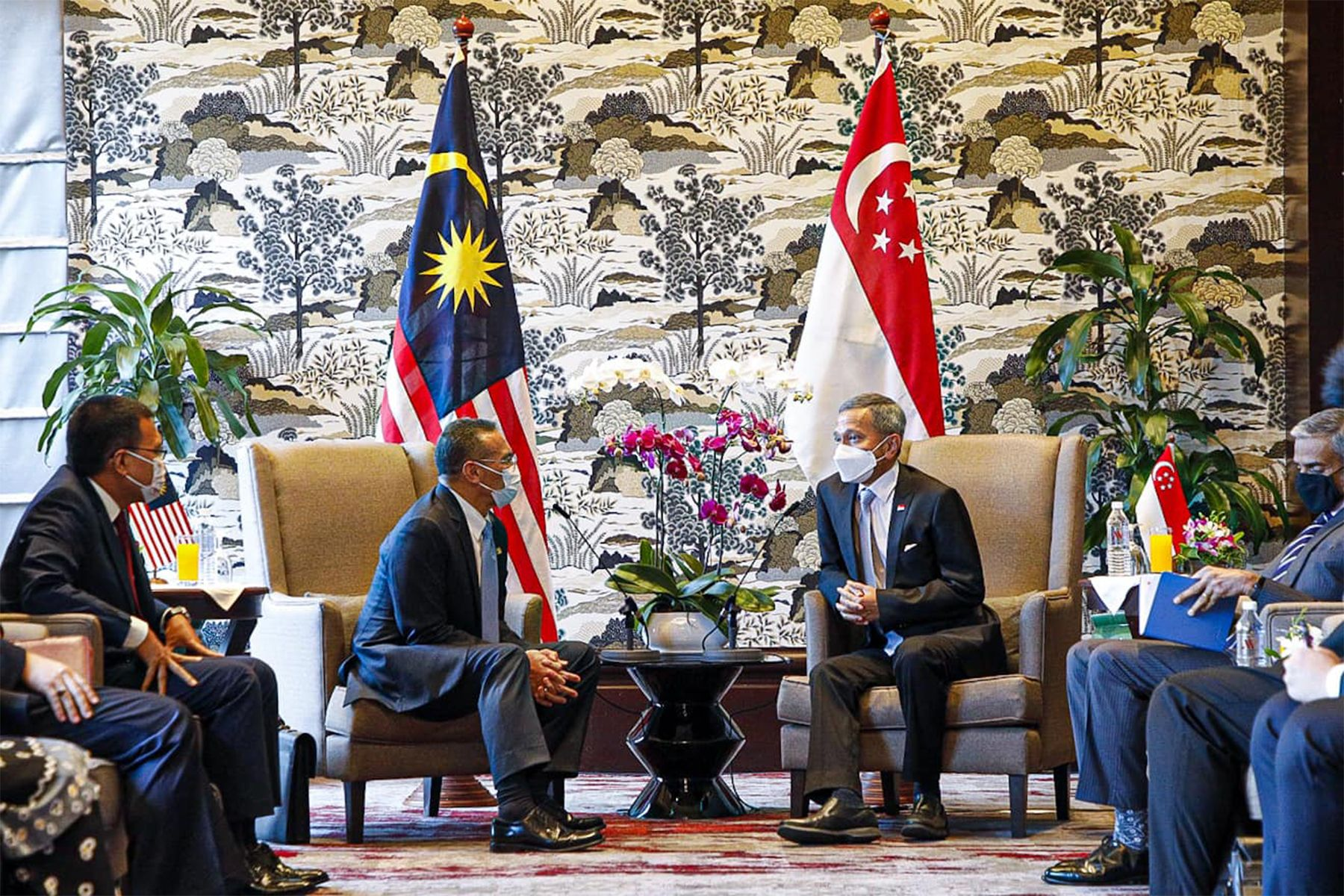 Singapore and Malaysia's Meeting in KL (Photo: Vivian Balakrishnan)