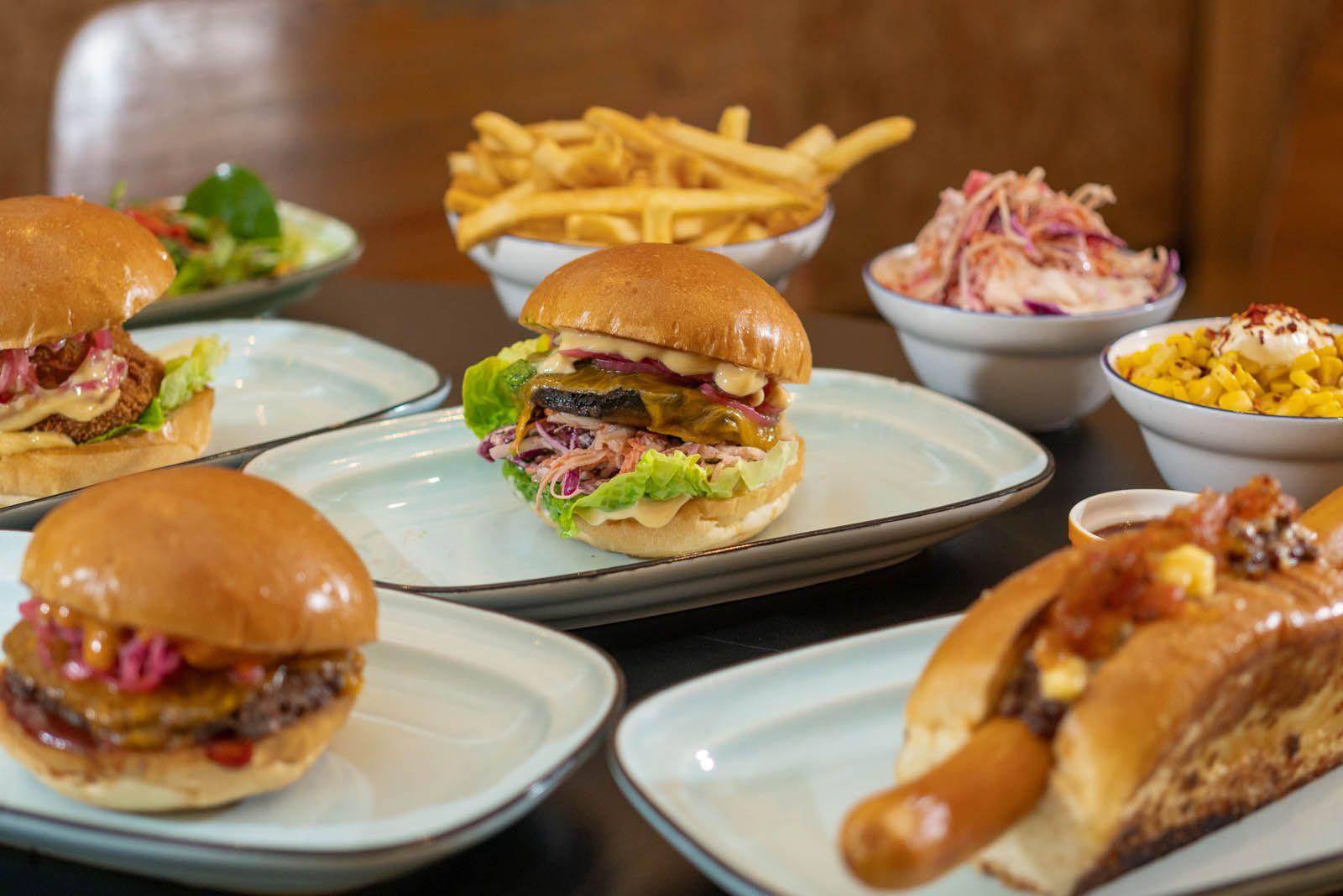 Tiga Roti's Halal-friendly burgers