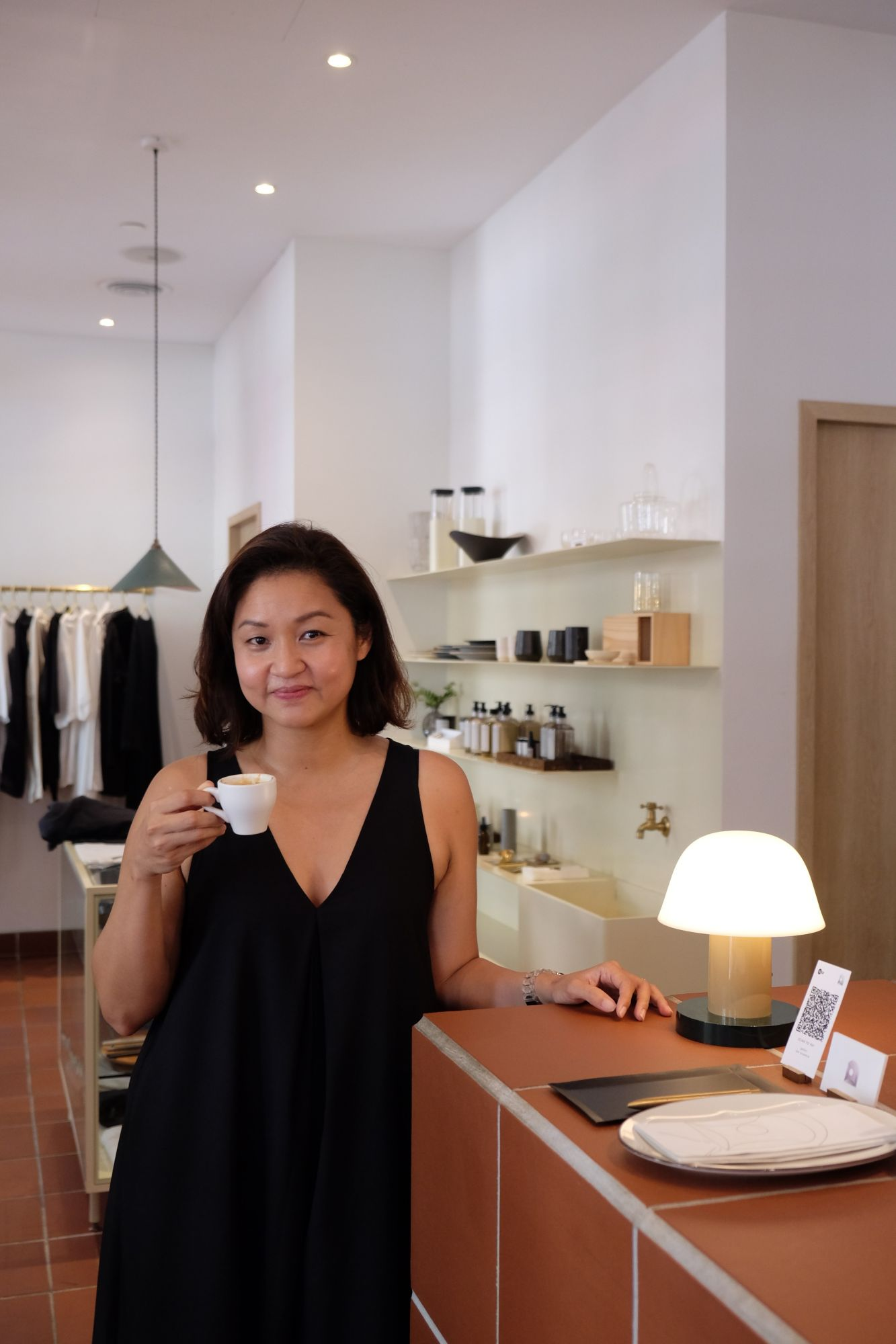Architect and specialty coffee fan Laura Phay